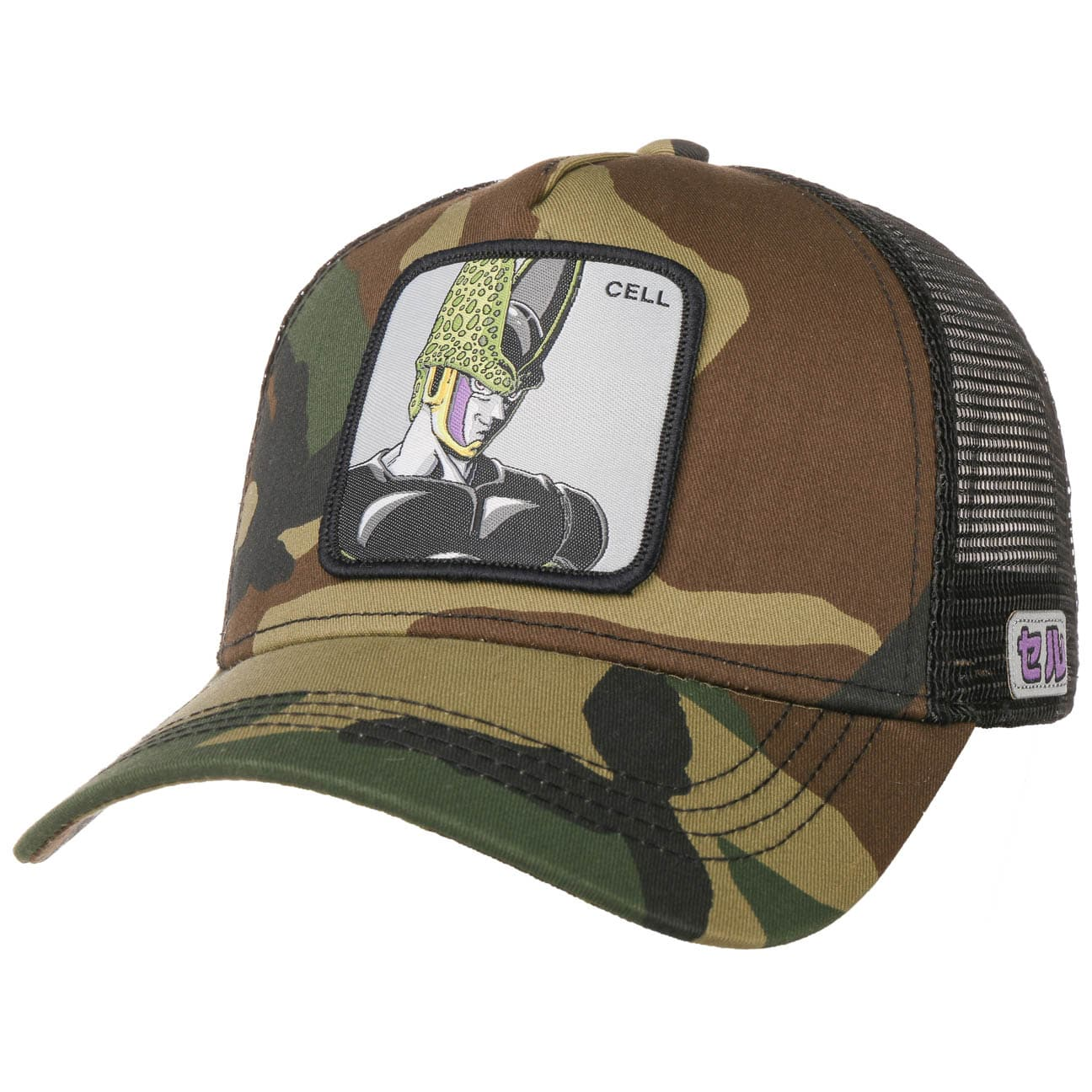 Gorra Trucker Dragon Ball Cell by Capslab