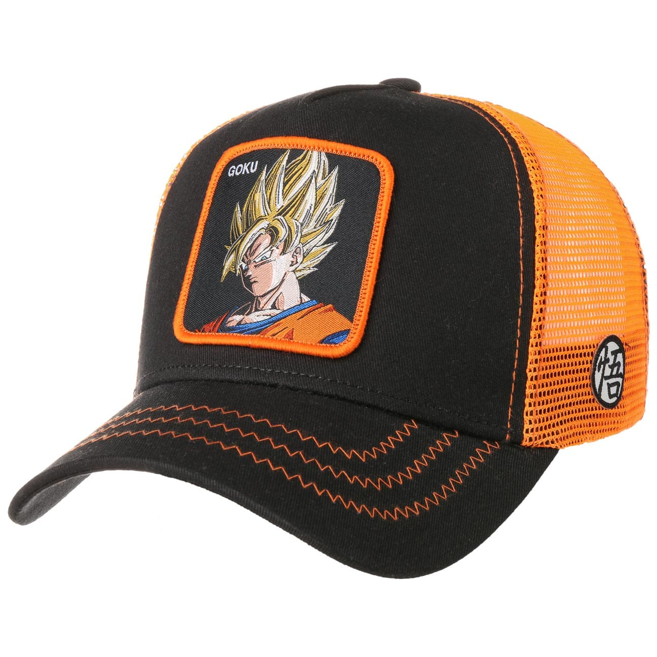 Gorra Trucker Dragon Ball Goku by Capslab