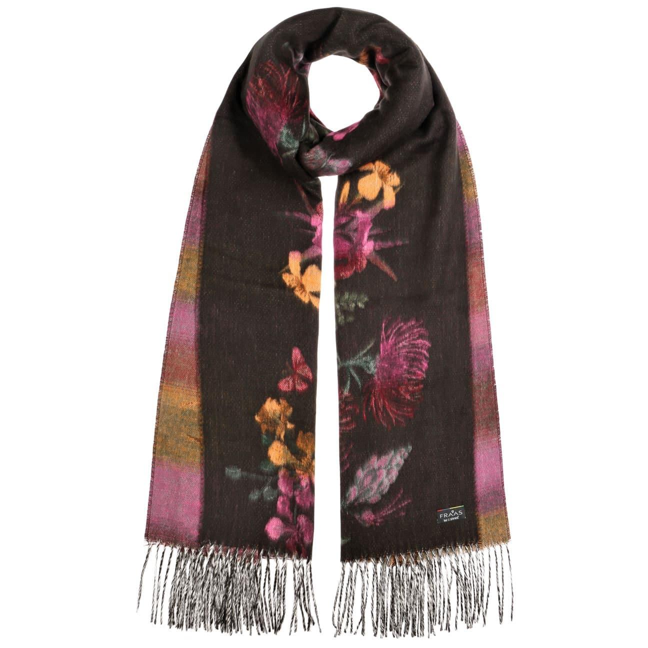Bufanda Flowers Soft Cashmink by Fraas