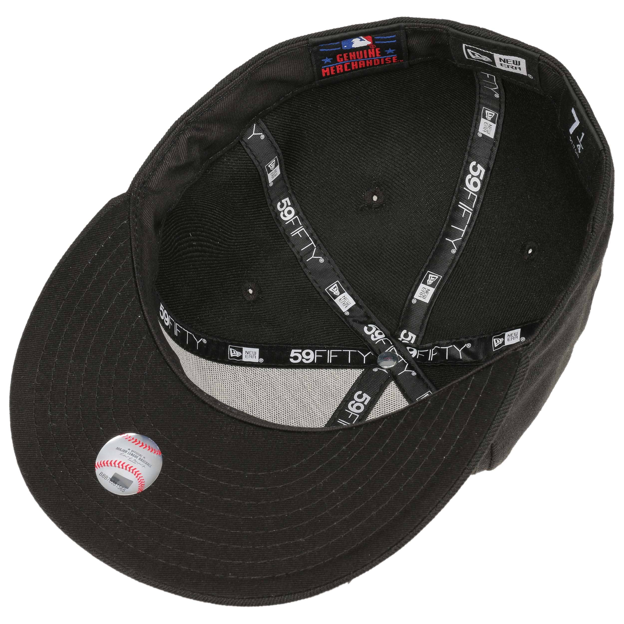 2b33c21fbf6d3 59Fifty Gorra MLB Basic NY by New Era - Gorras - sombreroshop.es