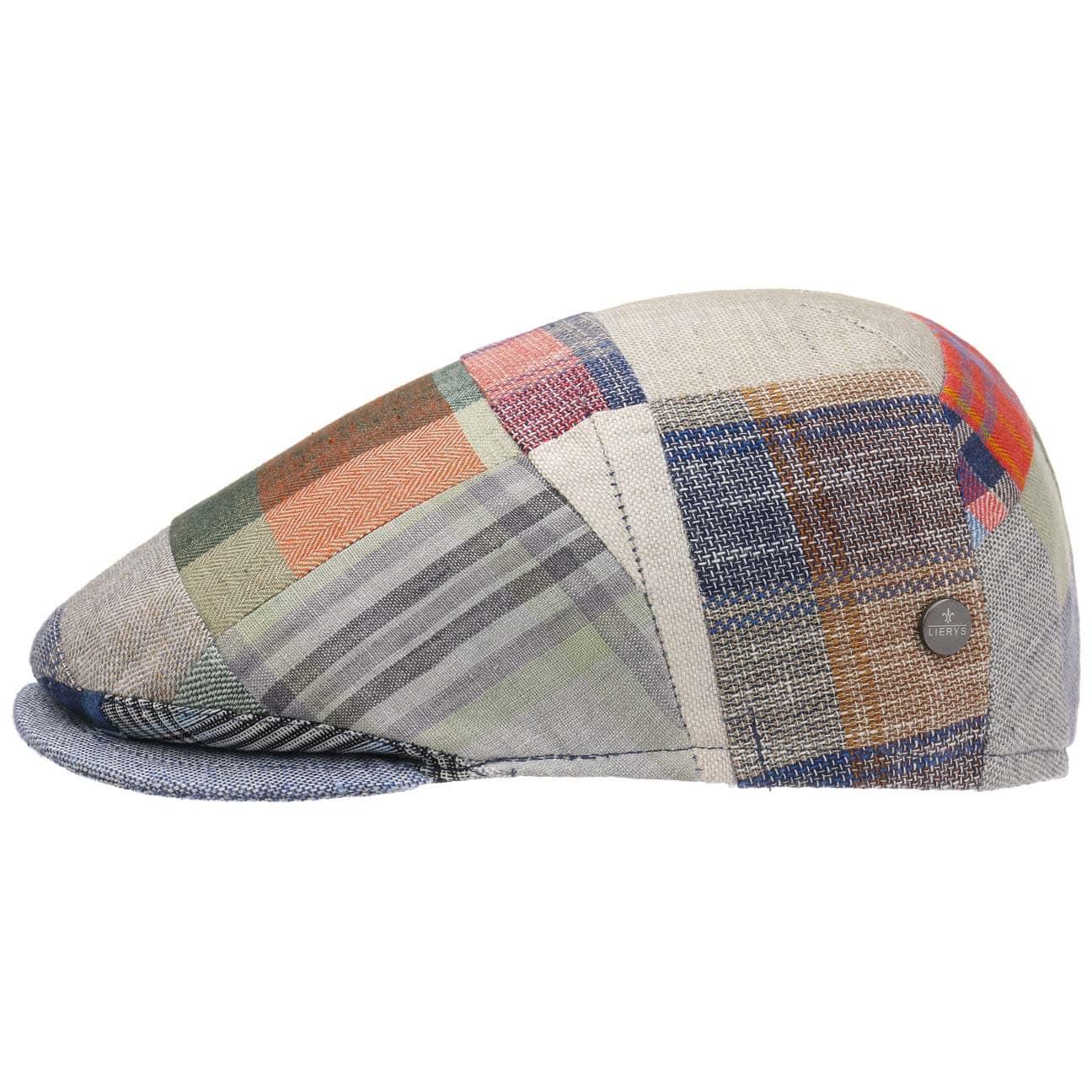 Gorra de Lino Patchwork Check by bugatti  gorra de lino