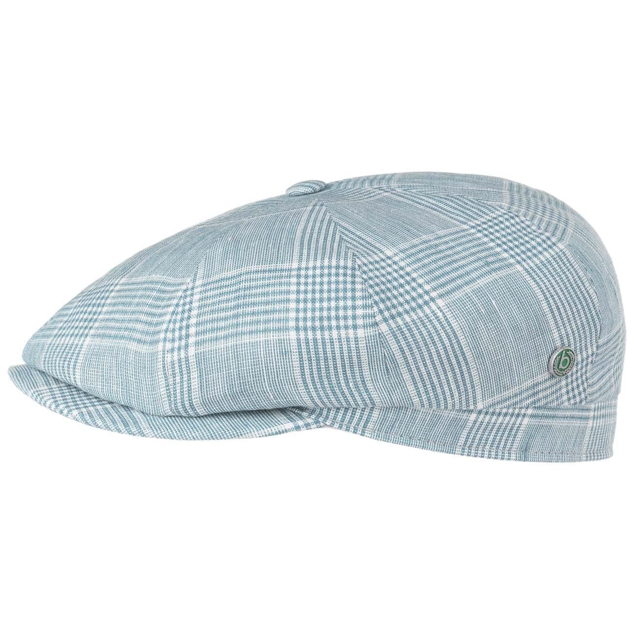 Gorra de Lino Bernard Check by bugatti  gorra de lino