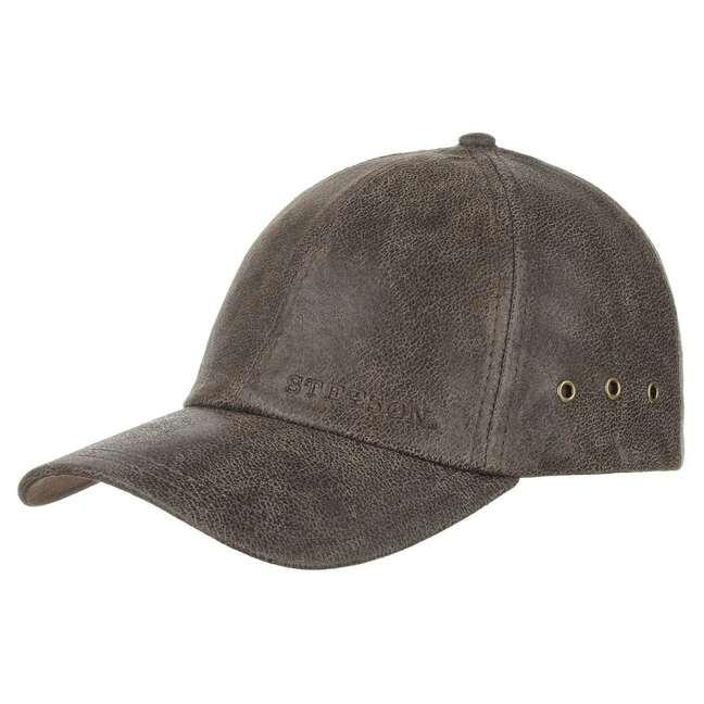 Gorra de Piel Liberty by Stetson - Gorras - sombreroshop.es 0c1da0a4588