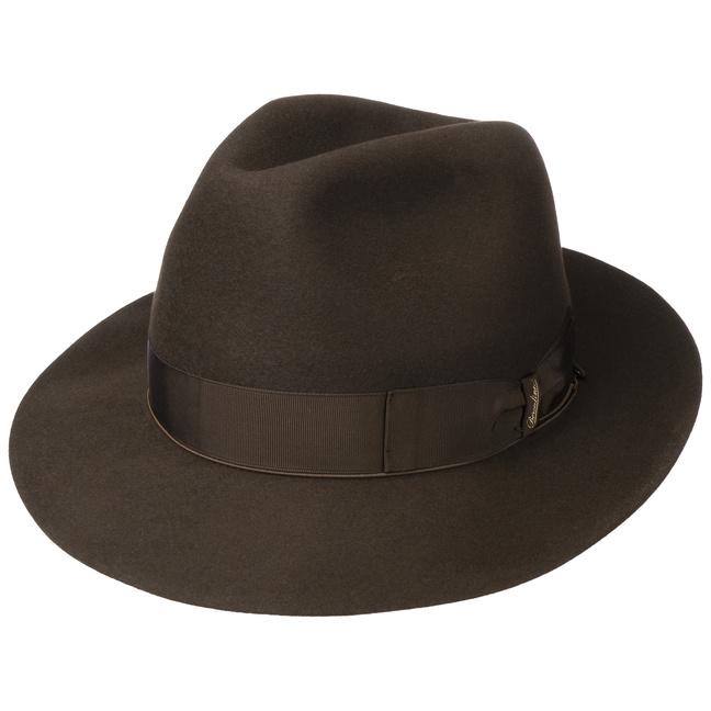 Sombrero Marrone by Borsalino - Sombreros - sombreroshop.es 076e20e3d12