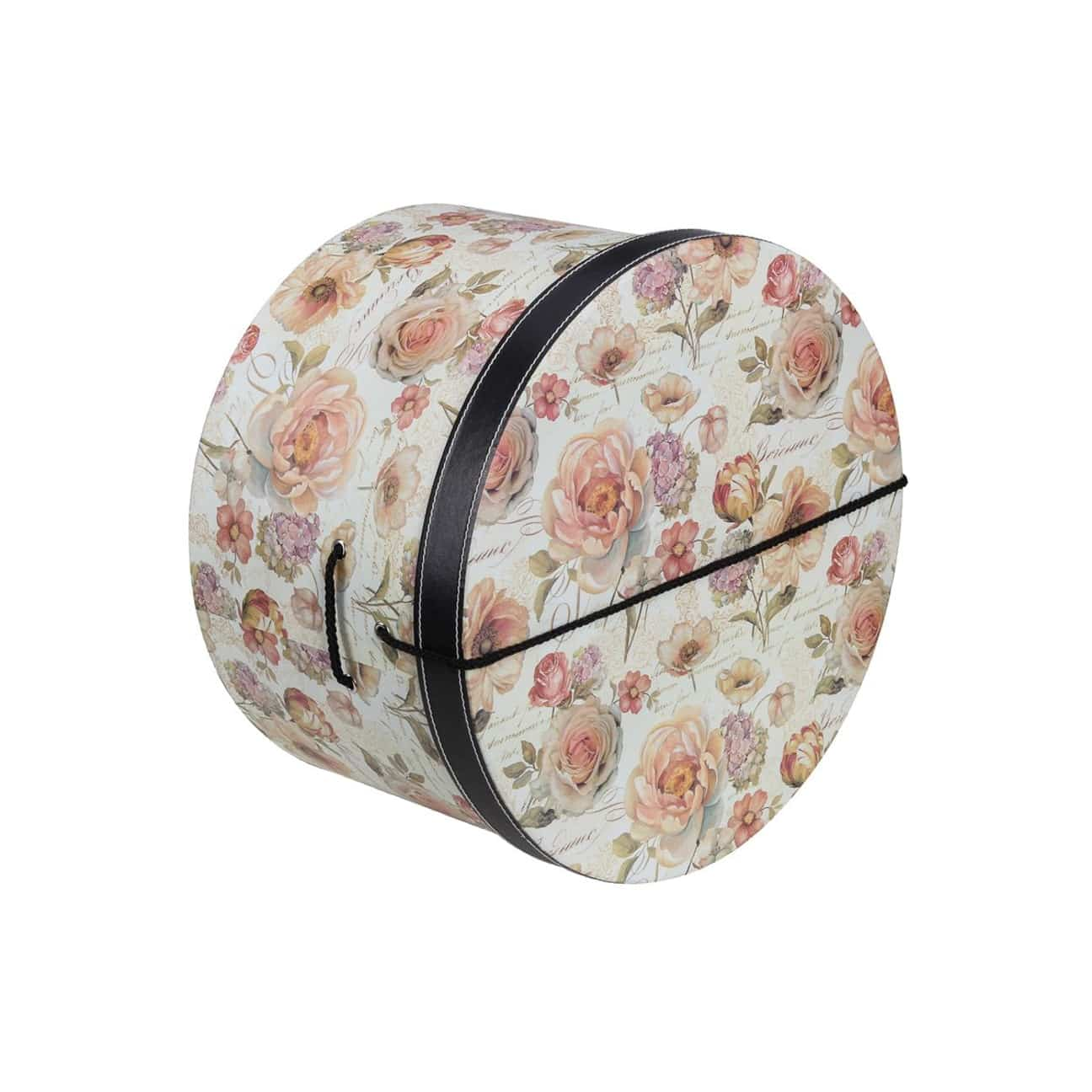 Caja Sombrero Rosas 28 cm by Lierys - Sombreros - sombreroshop.es 2f20950a342