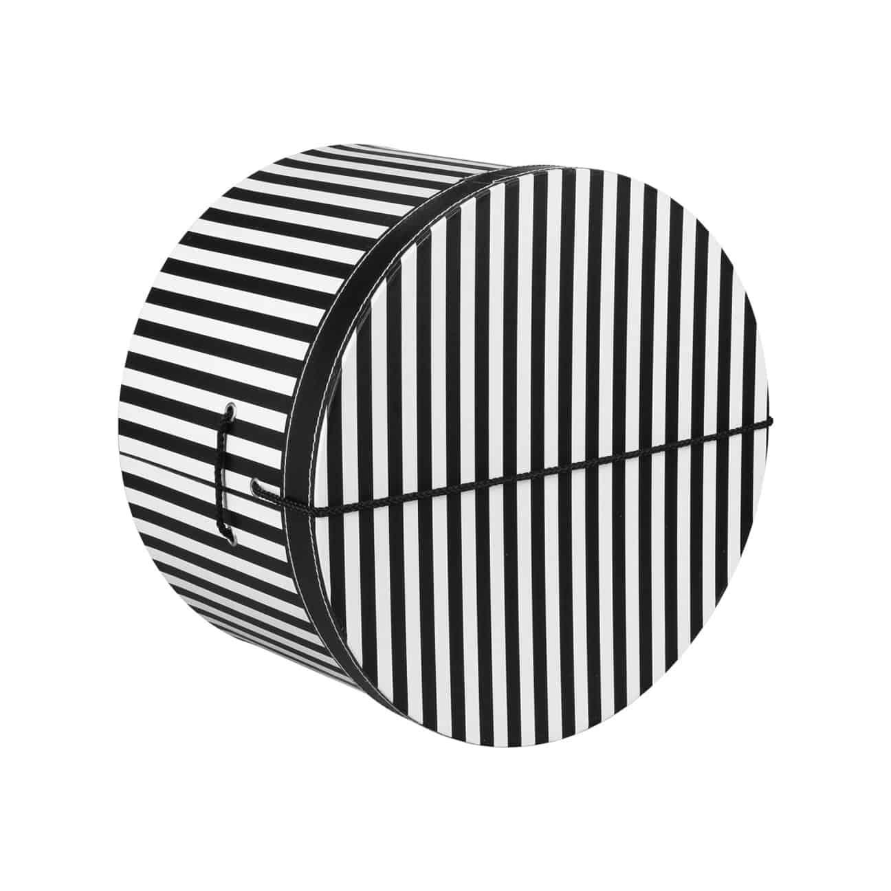 Caja Sombrero a Rayas 31 cm by Lierys - Sombreros - sombreroshop.es 9b519a970fa