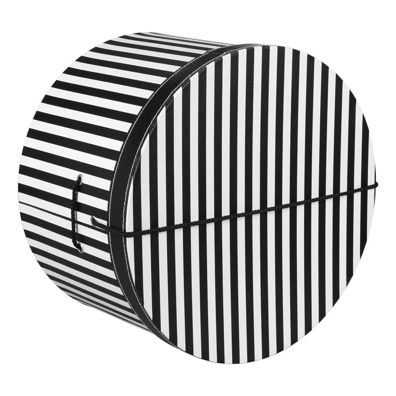 Caja Sombrero a Rayas 42 cm by Lierys - Sombreros - sombreroshop.es b825c586bba