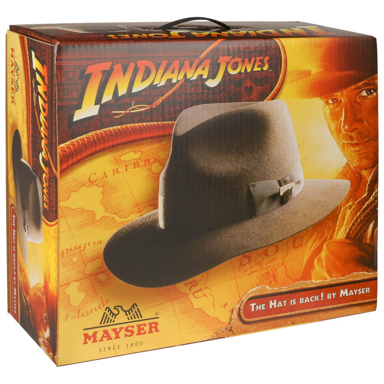 Caja para Sombrero Indiana Jones by Mayser - Sombreros - sombreroshop.es 53fbe912aaf