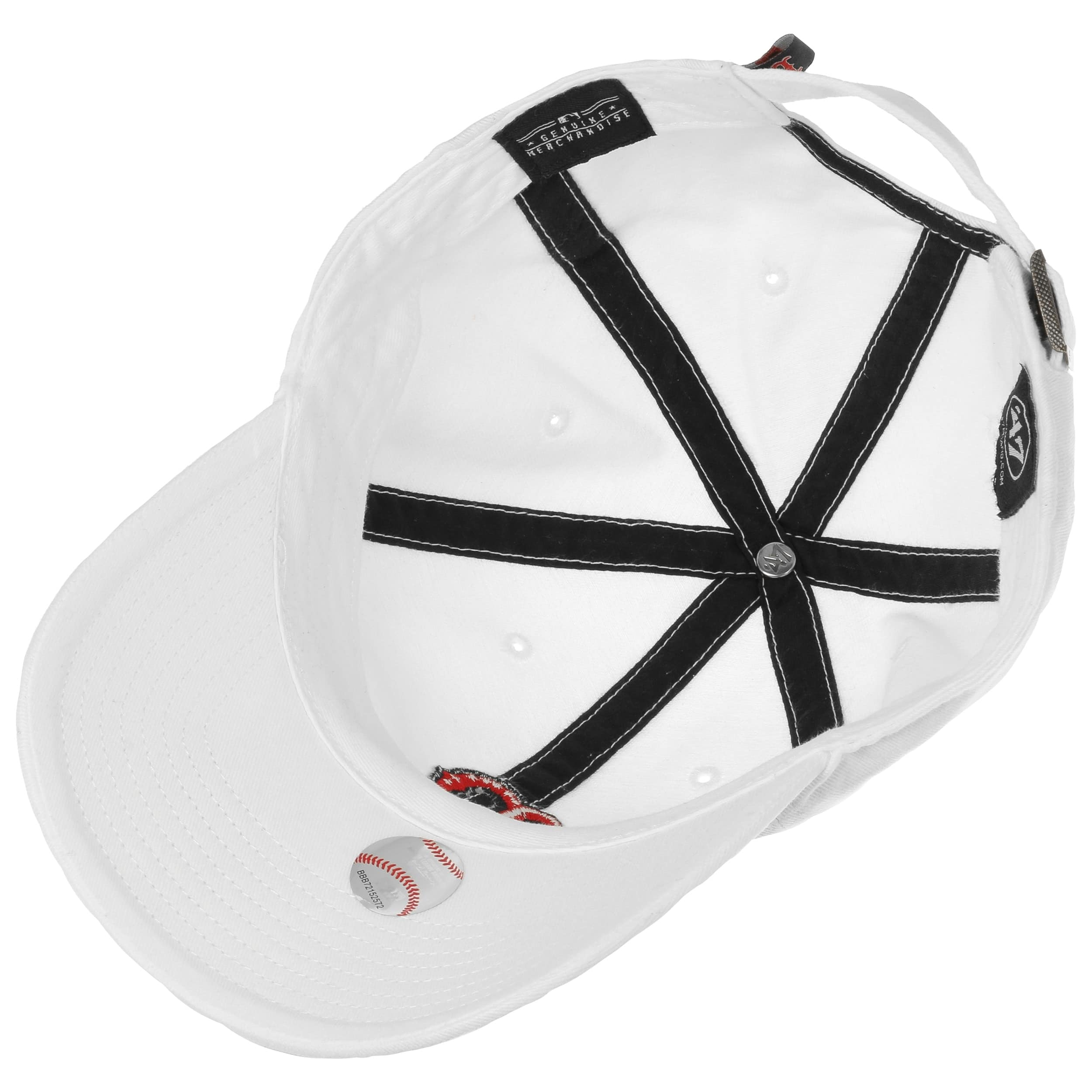 Clean Up Boston Red Sox Cap by 47 Brand - Gorras - sombreroshop.es c3f68bed5e8