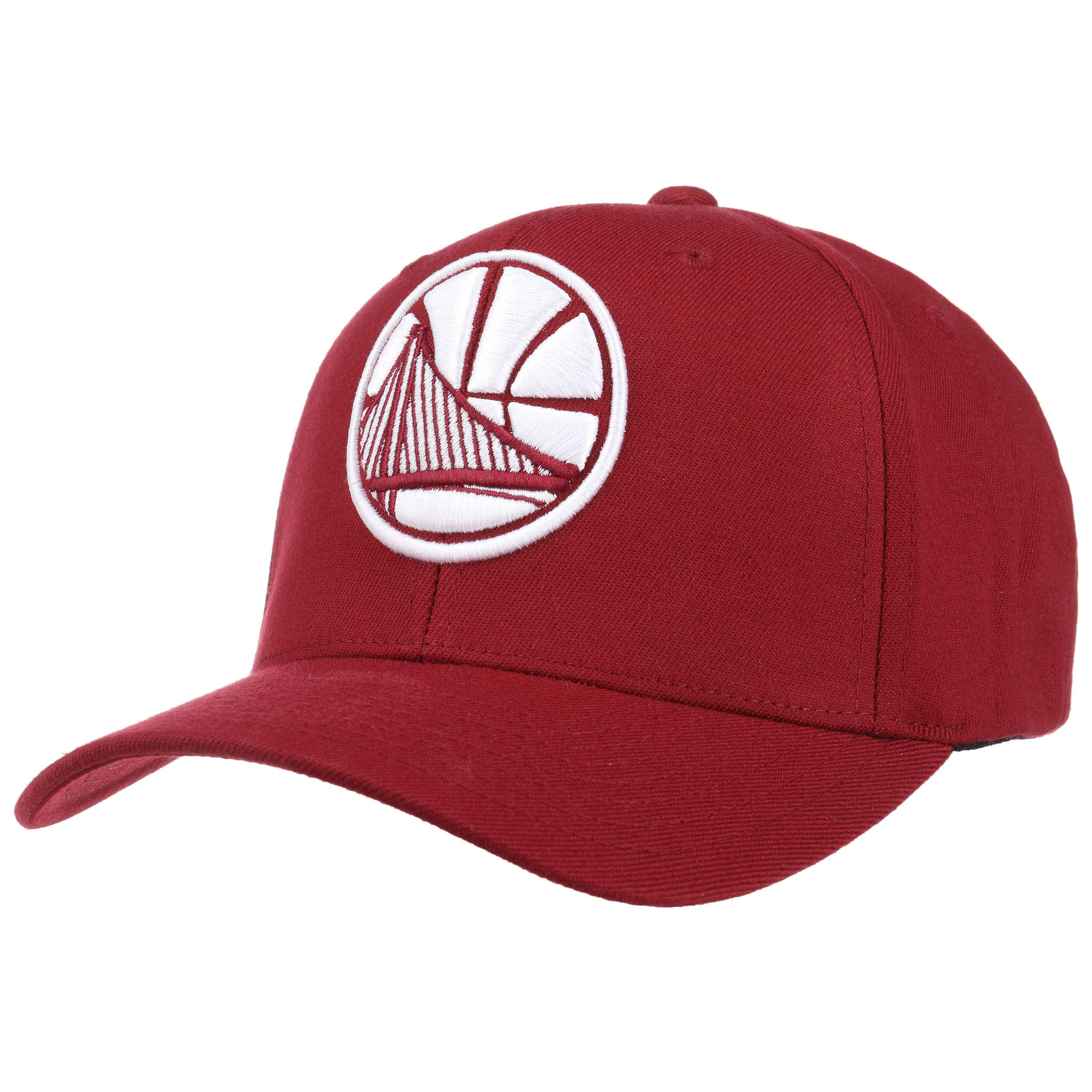 1f0310658b0c2 ... Gorra 110 Burgundy Warriors by Mitchell   Ness - burdeos 6