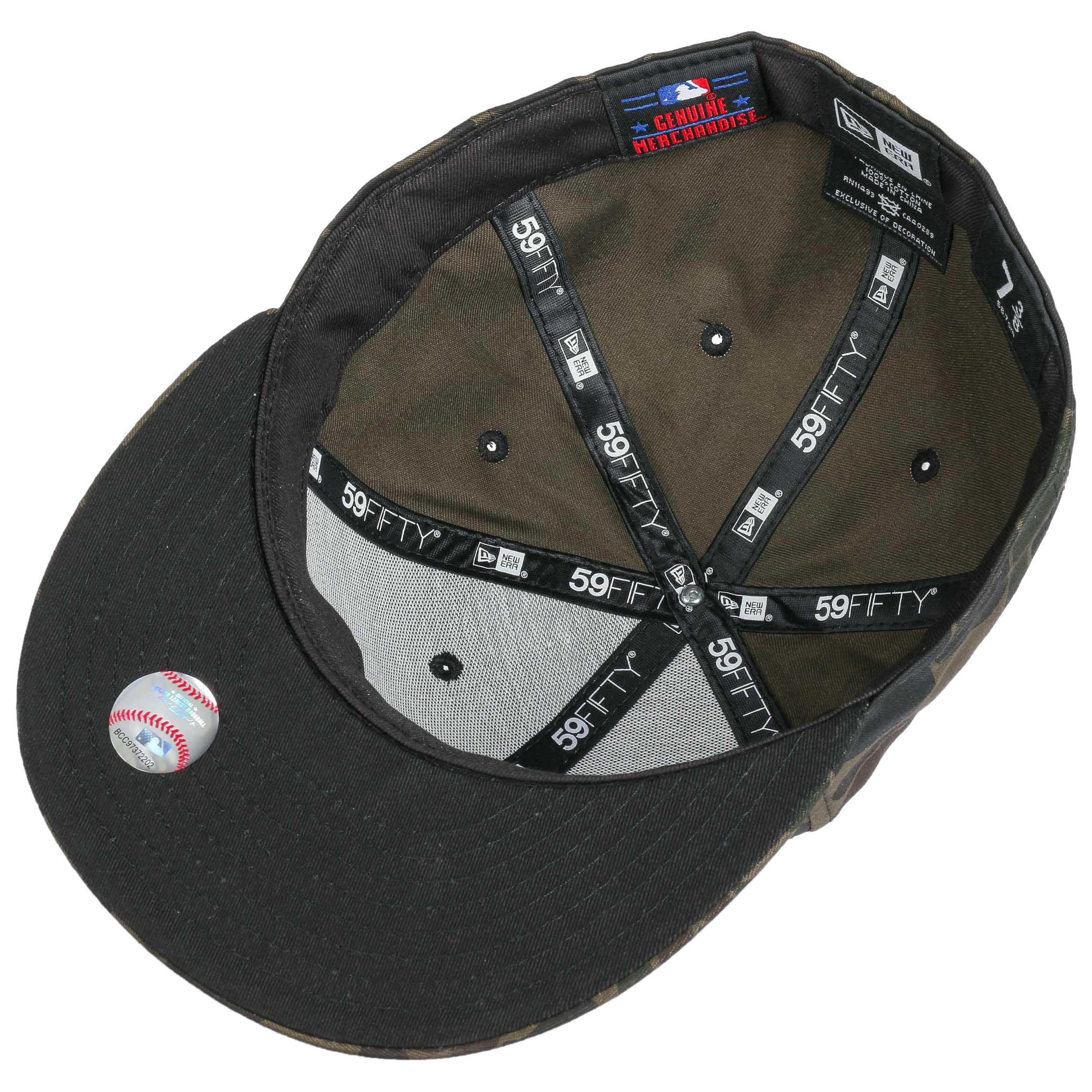 12253be663a2c Gorra 59Fifty Camo Red Sox by New Era - Gorras - sombreroshop.es