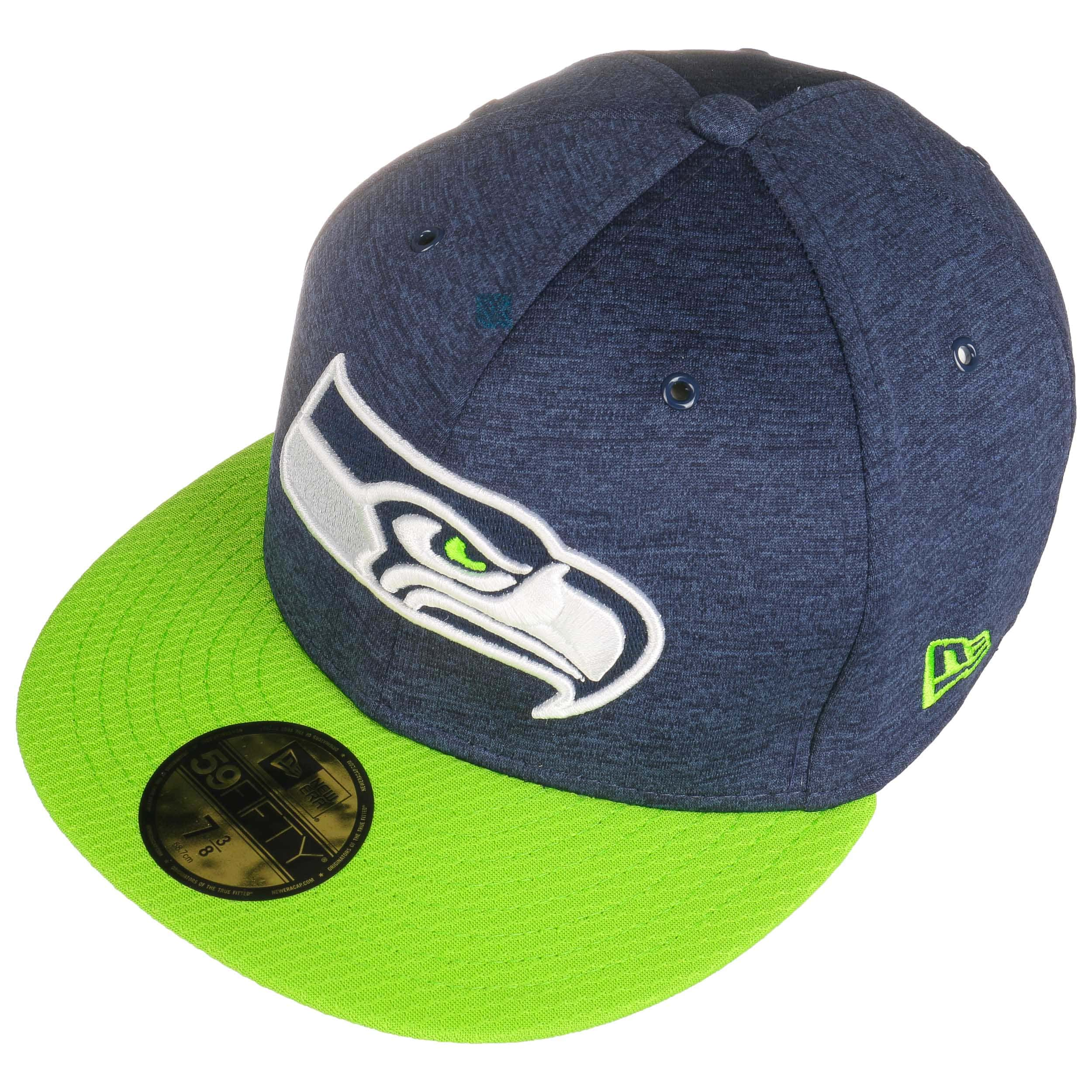 Gorra 59Fifty On-Field 18 Seahawks by New Era - Gorras - sombreroshop.es fee2035523e