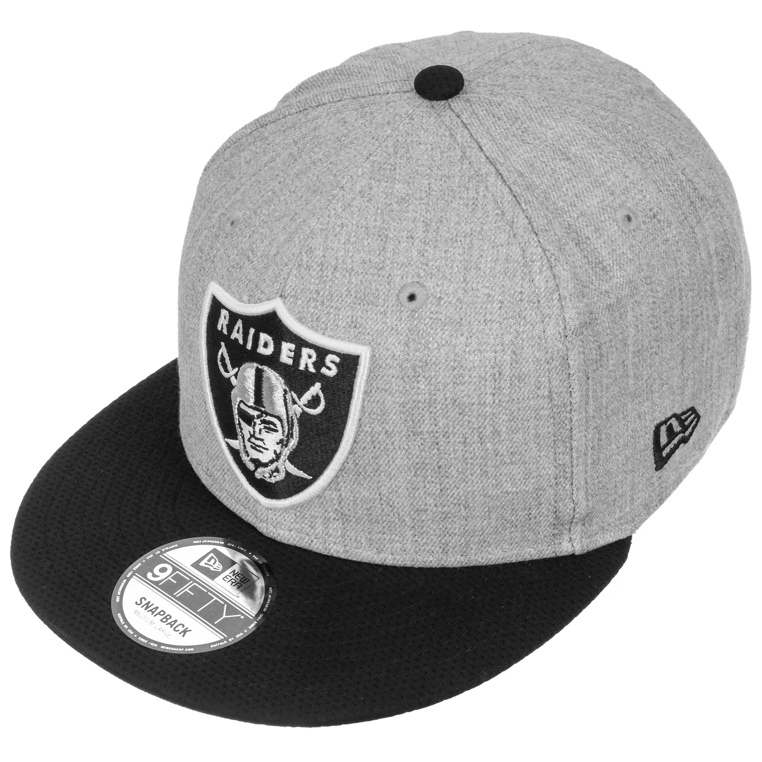 4a09bbe09aaa3 Gorra 9Fifty Heather Raiders by New Era - Gorras - sombreroshop.es