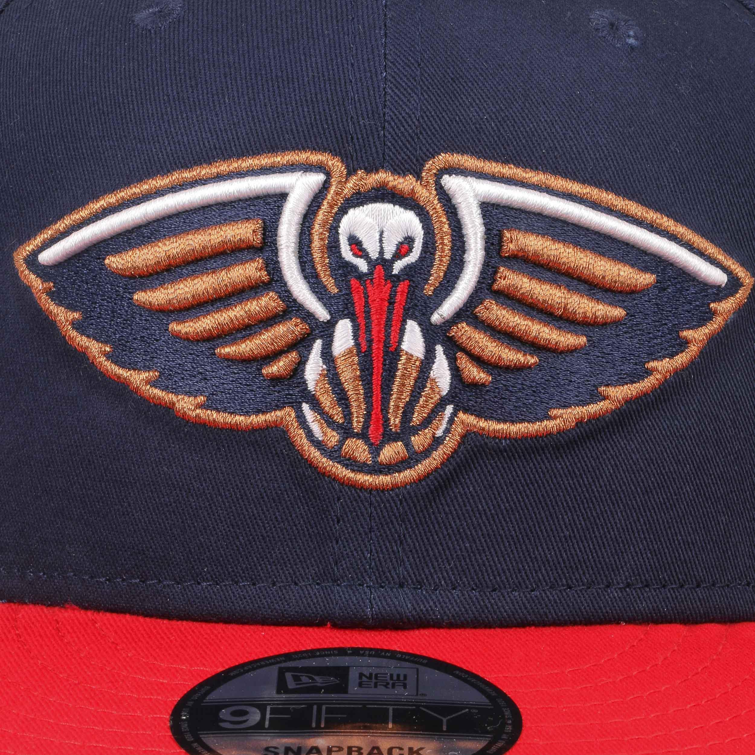 ... Gorra 9Fifty OTC Pelicans by New Era - azul oscuro 4 ... 39c090c8ab6