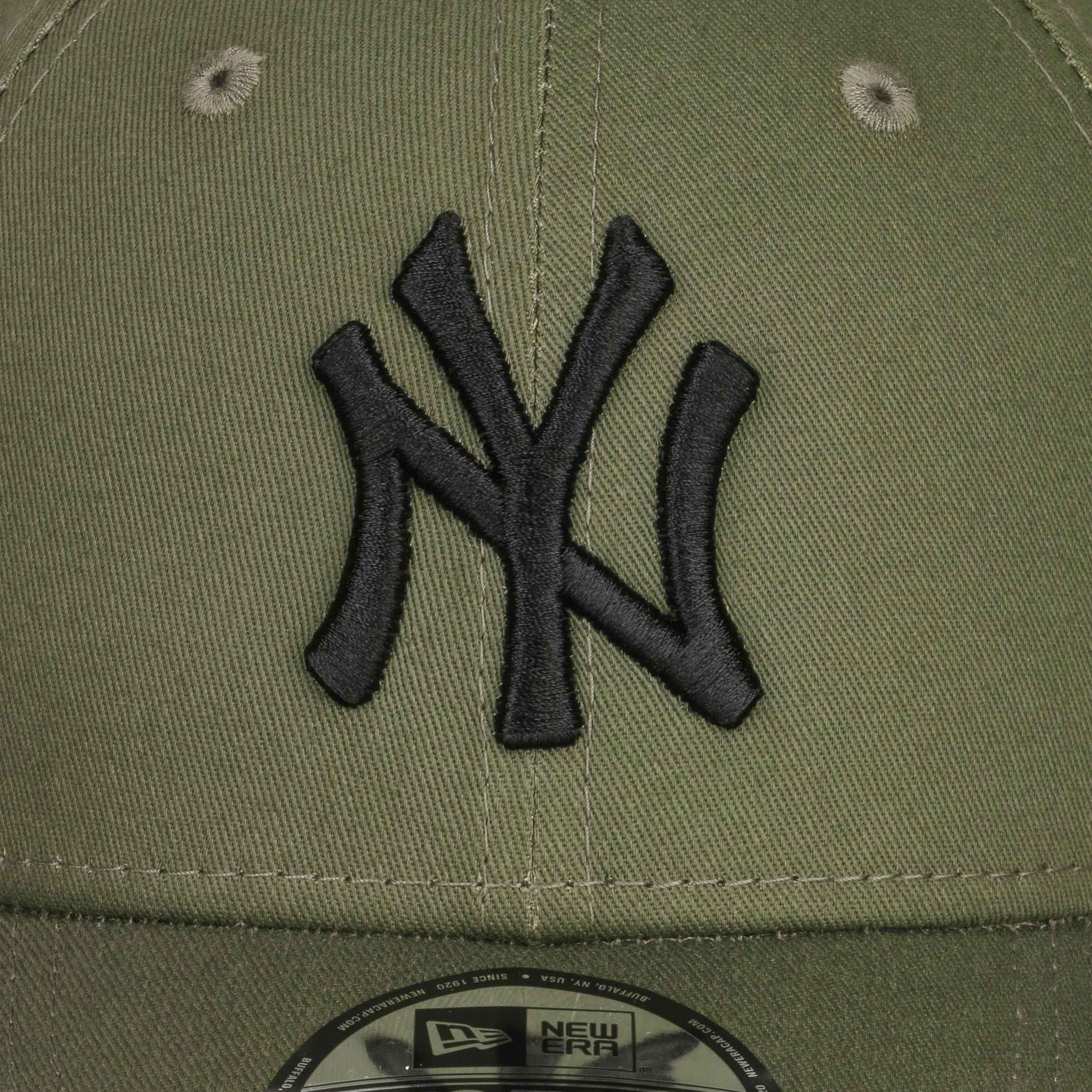 83de36a093b32 ... Gorra 9Forty League Essential Yankees by New Era - verde oliva-negro 4  ...