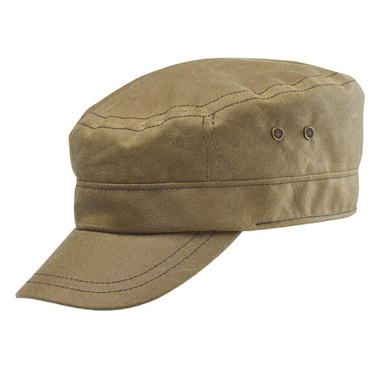 Gorra Austin Waxed Cotton by Stetson - Gorras - sombreroshop.es 08fa6b3fb9d