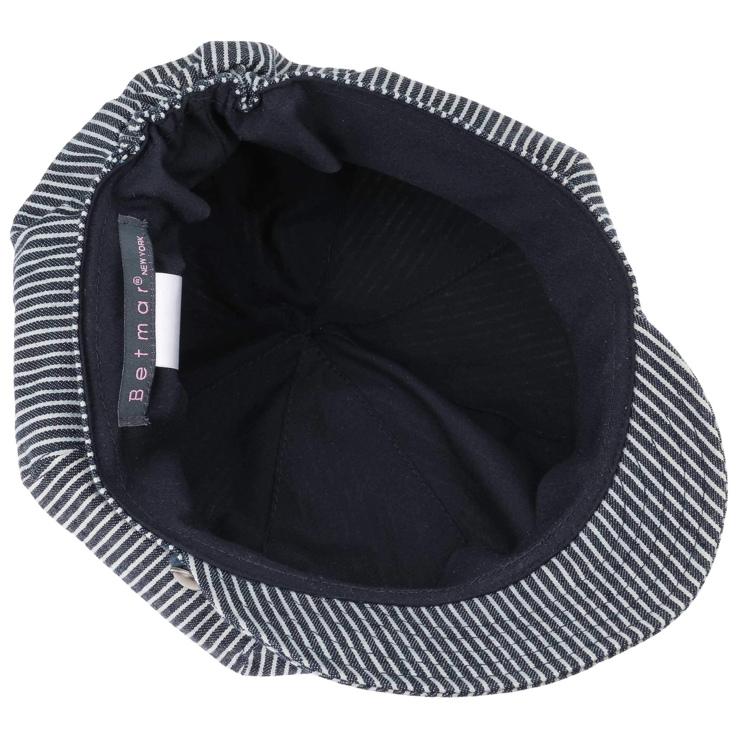 Gorra Baker Boy Denim Stripes by Betmar - Gorras - sombreroshop.es 30d885aa296