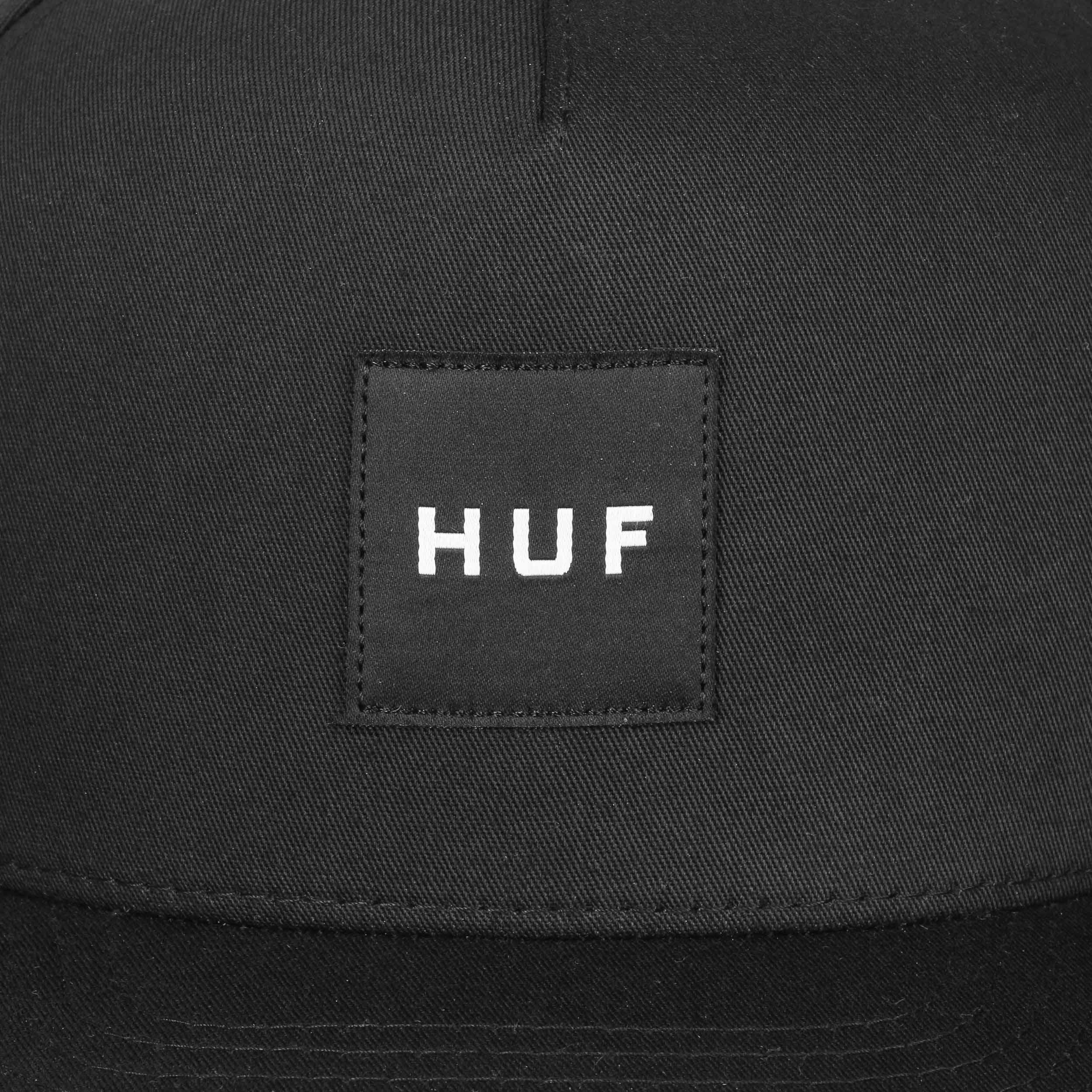 Gorra Box Logo Cotton Snapback by HUF - Gorras - sombreroshop.es 957fc699ddb
