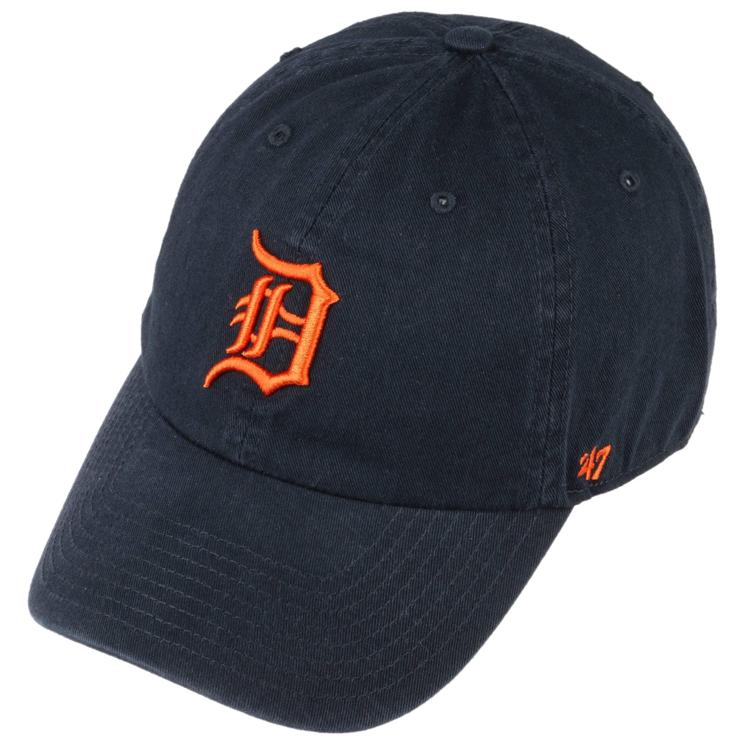 Gorra Clean Up Detroit Tigers by 47 Brand - Gorras - sombreroshop.es e58a62d903d