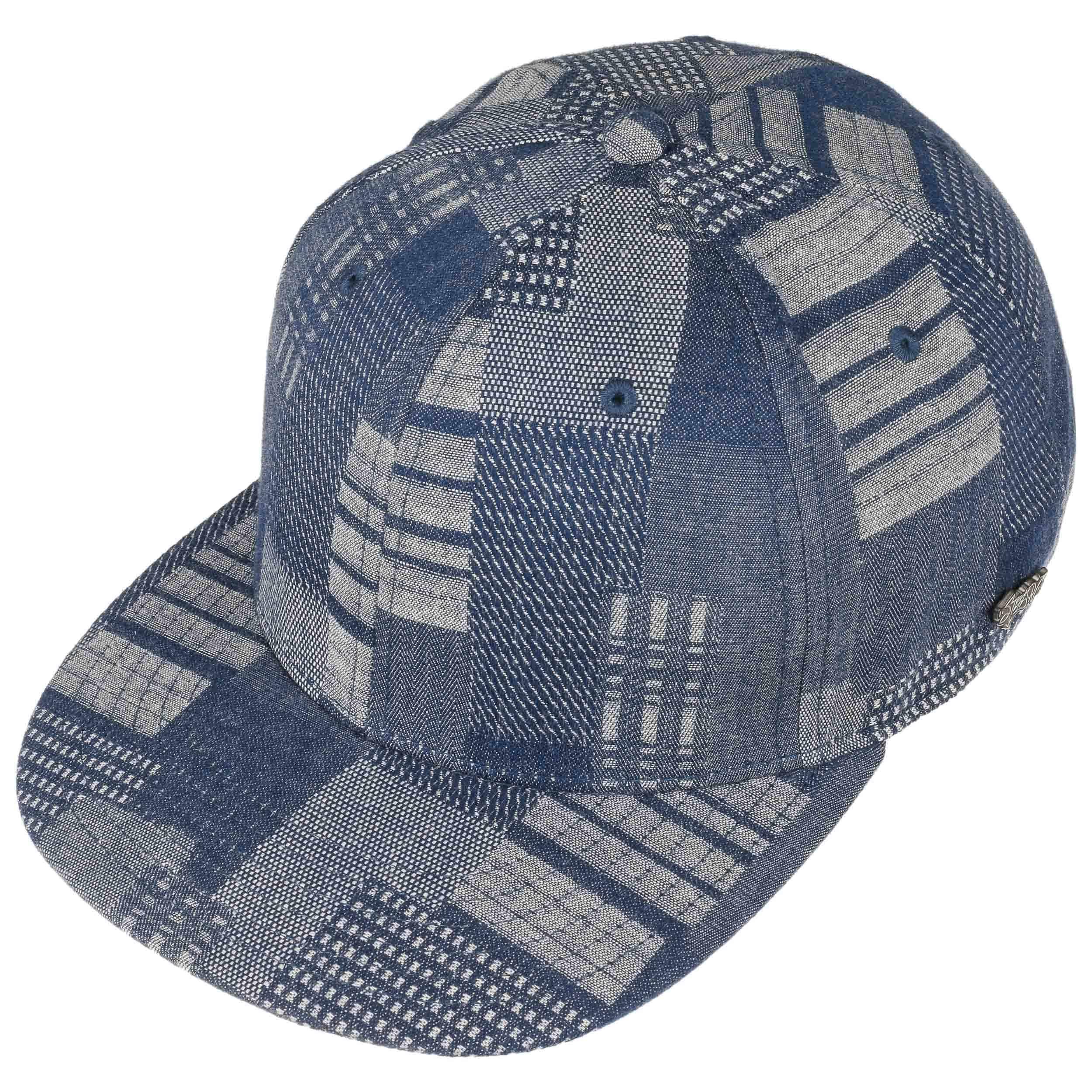 Gorra Denim Patchwork by Stetson - Gorras - sombreroshop.es f5af2bcdbab
