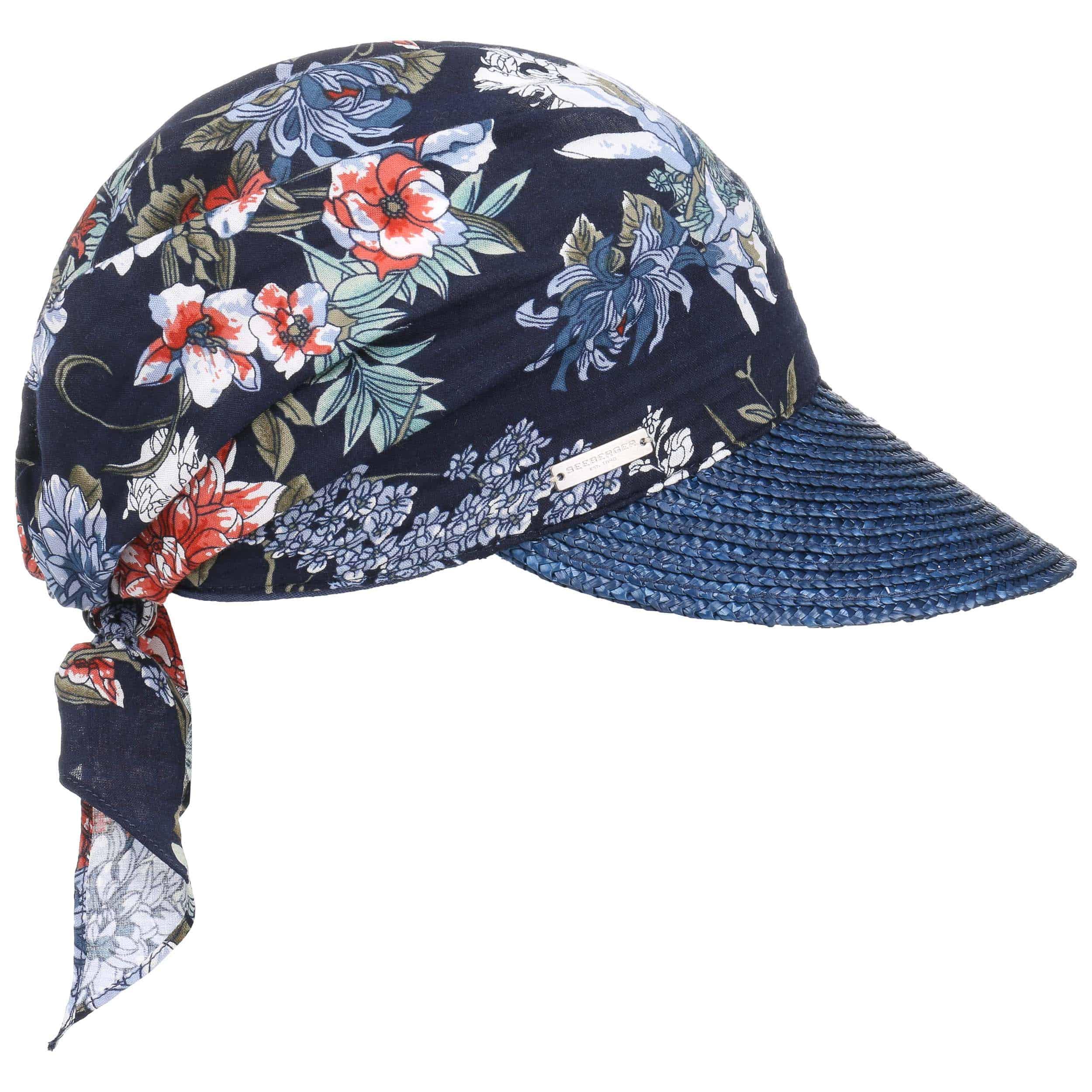 Gorra Flower High UV Bandana by Seeberger - Bandanas - sombreroshop.es 5ca0dfd99ed