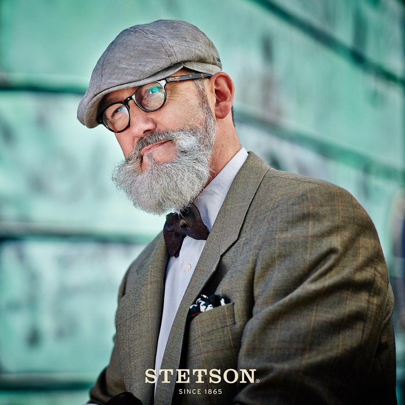 Gorra Gatsby de Lino Brooklin by Stetson - Gorras - sombreroshop.es 43139fbf0e7