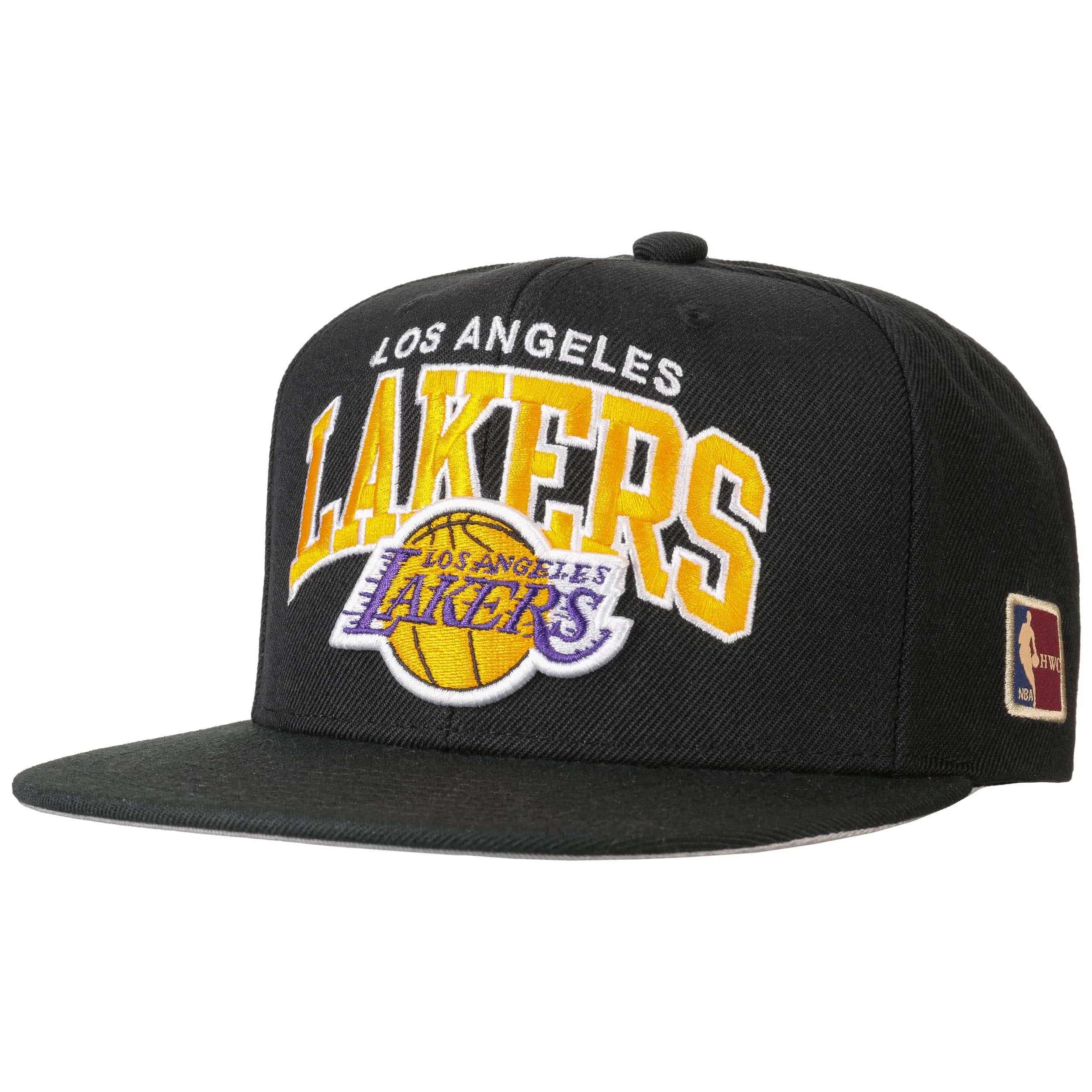8fffe9e15ee18 Gorra HWC NBA Lakers by Mitchell   Ness - Gorras - sombreroshop.es