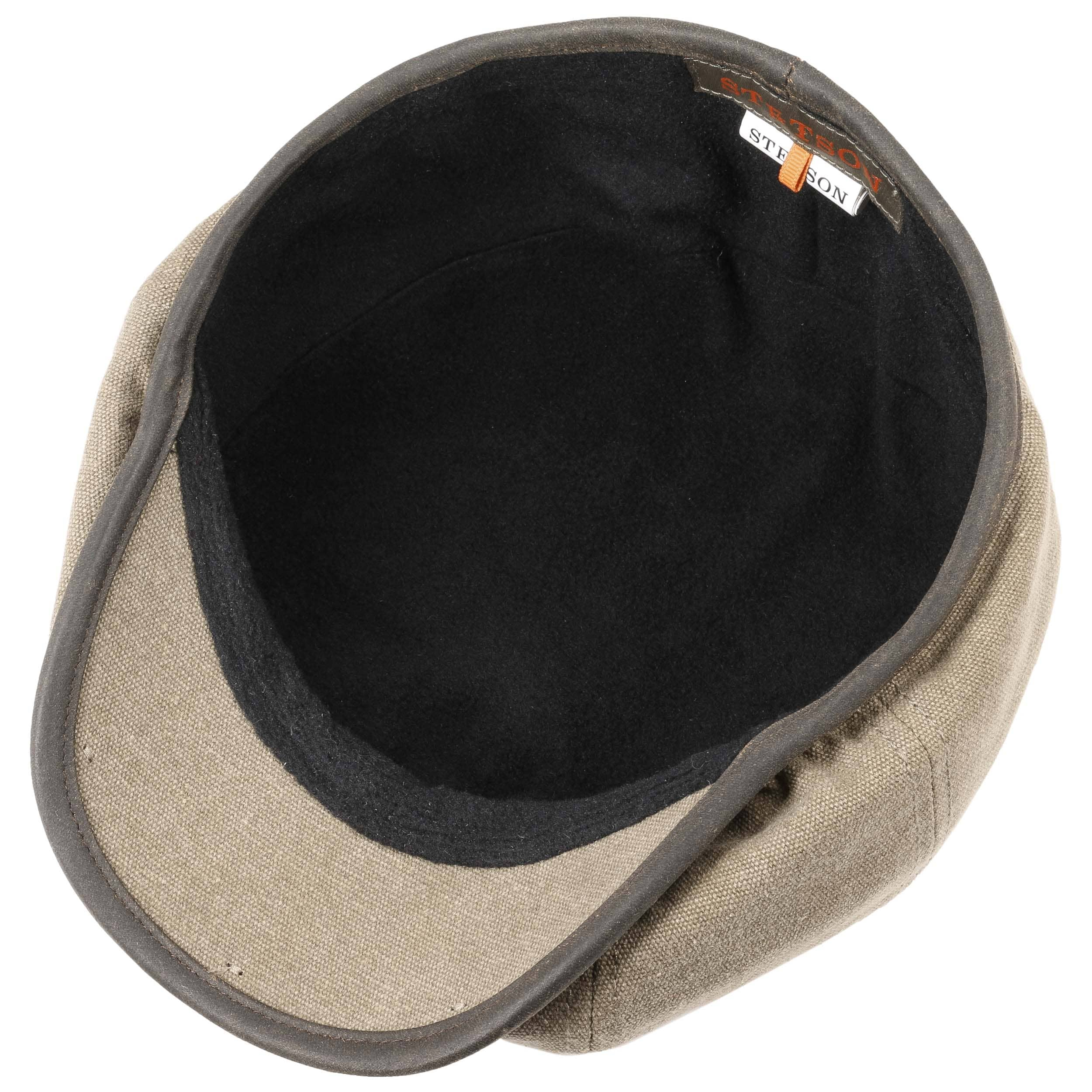 ... Gorra Hatteras Canvas Piping by Stetson - verde oliva claro 2 ... 24f56682d4a