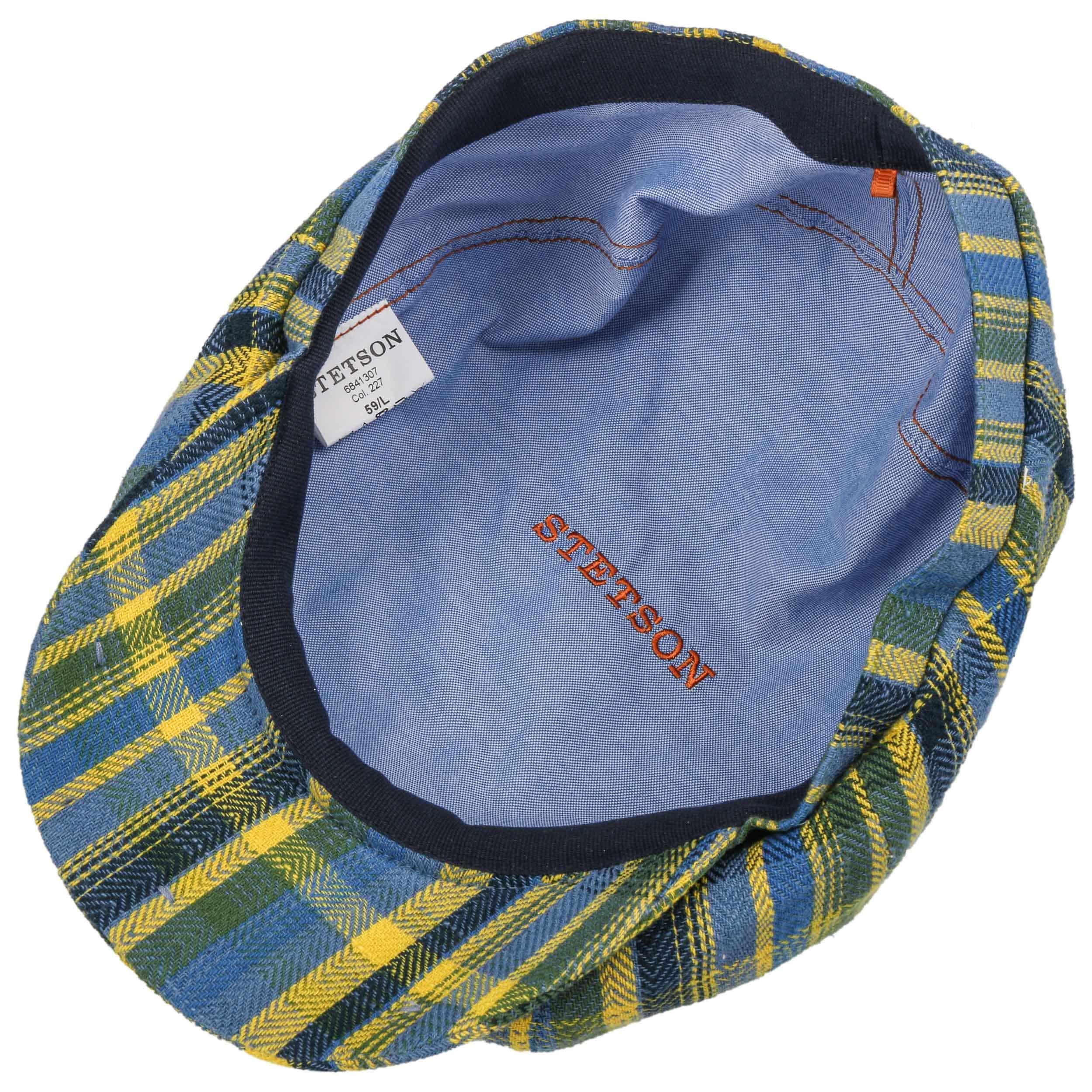 6f69b2df5ce28 Gorra Hatteras Colour Check by Stetson - Gorras - sombreroshop.es