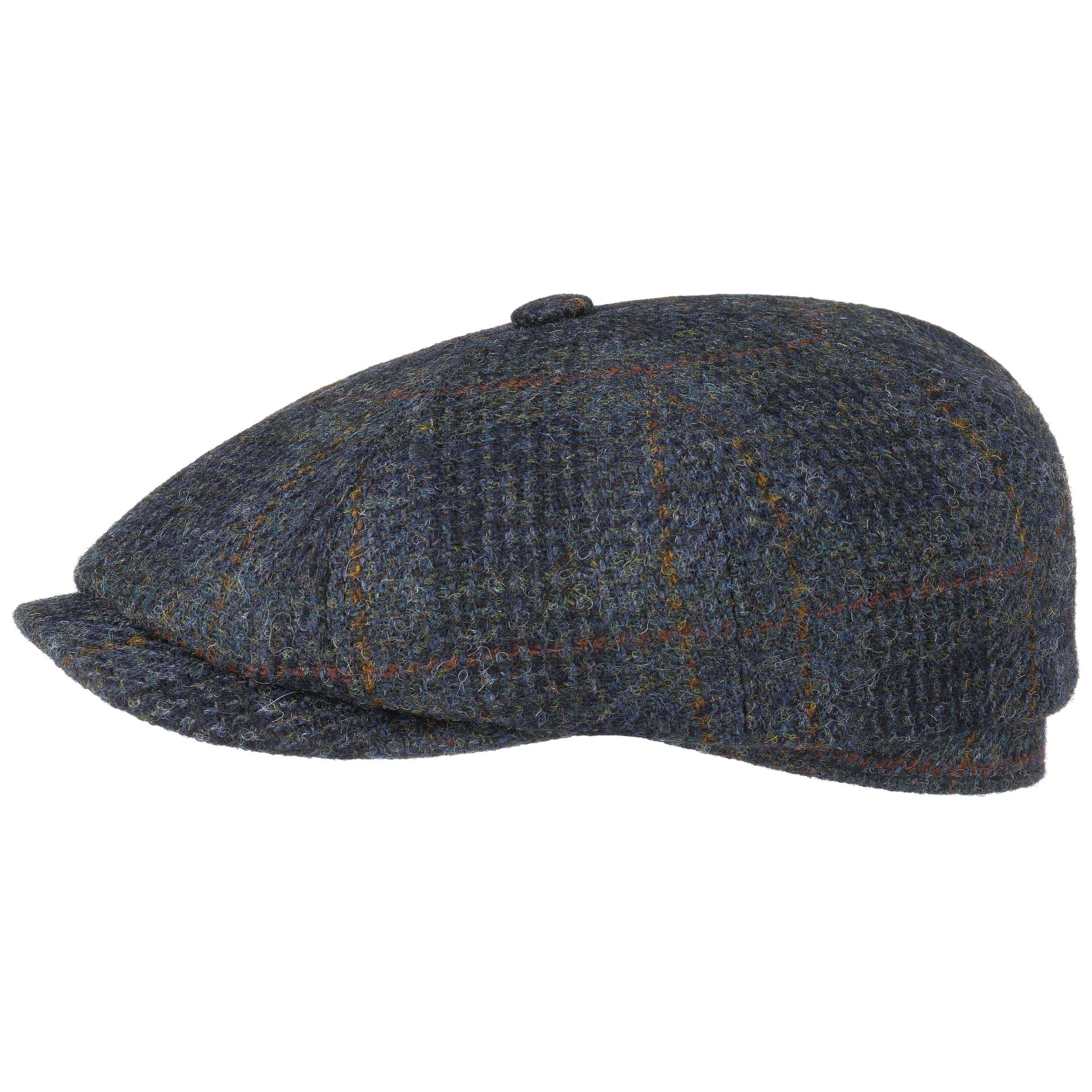 0b93c677865b9 Gorra Hatteras Harris Tweed Check by Stetson - Gorras - sombreroshop.es