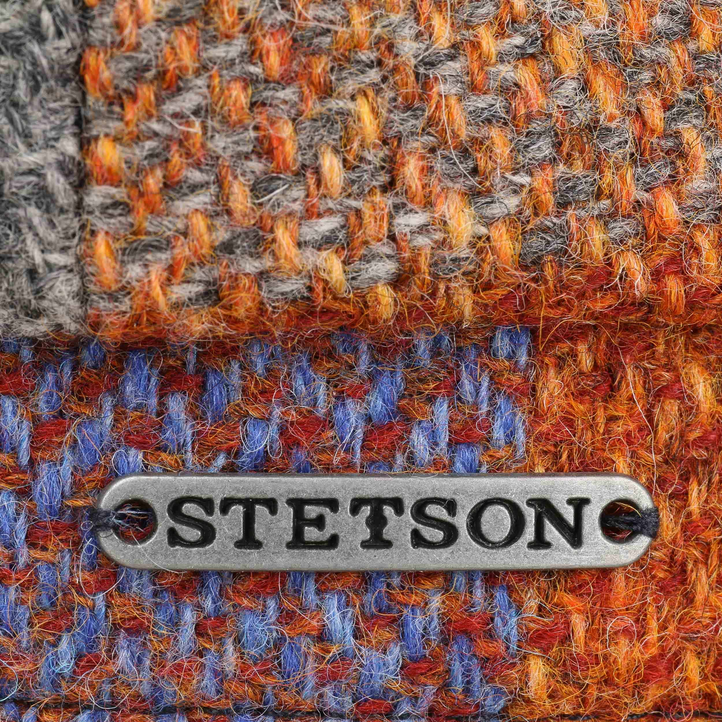 Gorra Hatteras Lambswool Check by Stetson - Gorras - sombreroshop.es 610240a337b