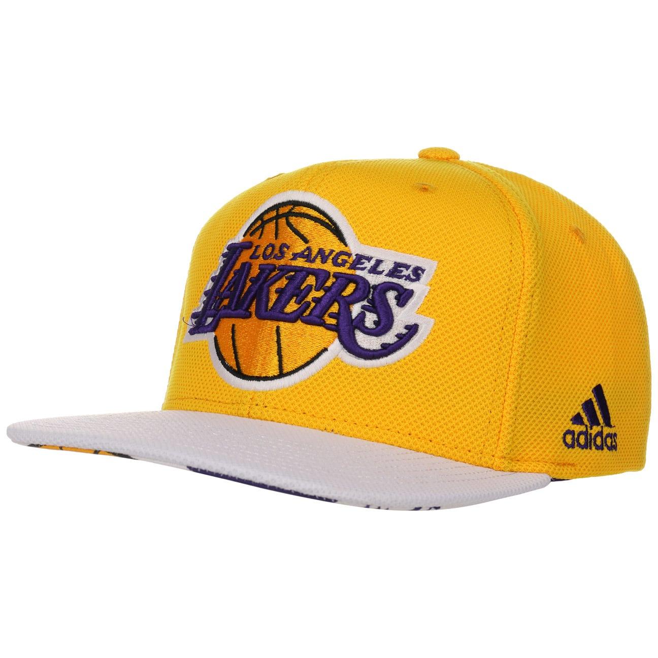 cbb1657f259 Gorra LA Lakers Flatbrim Cap by adidas - Gorras - sombreroshop.es
