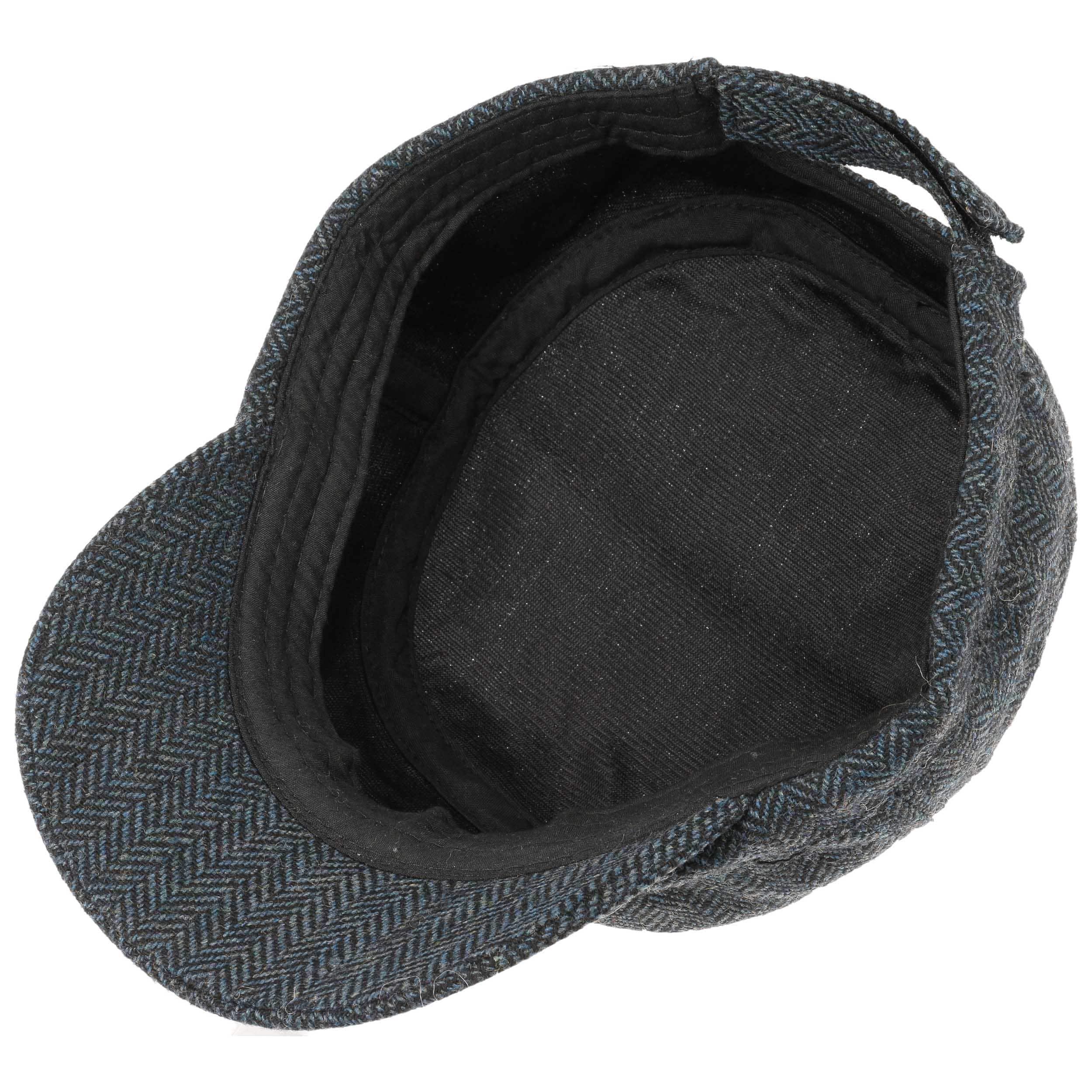 Gorra Militar Herringbone by Lipodo - Gorras - sombreroshop.es 491b5db2a61