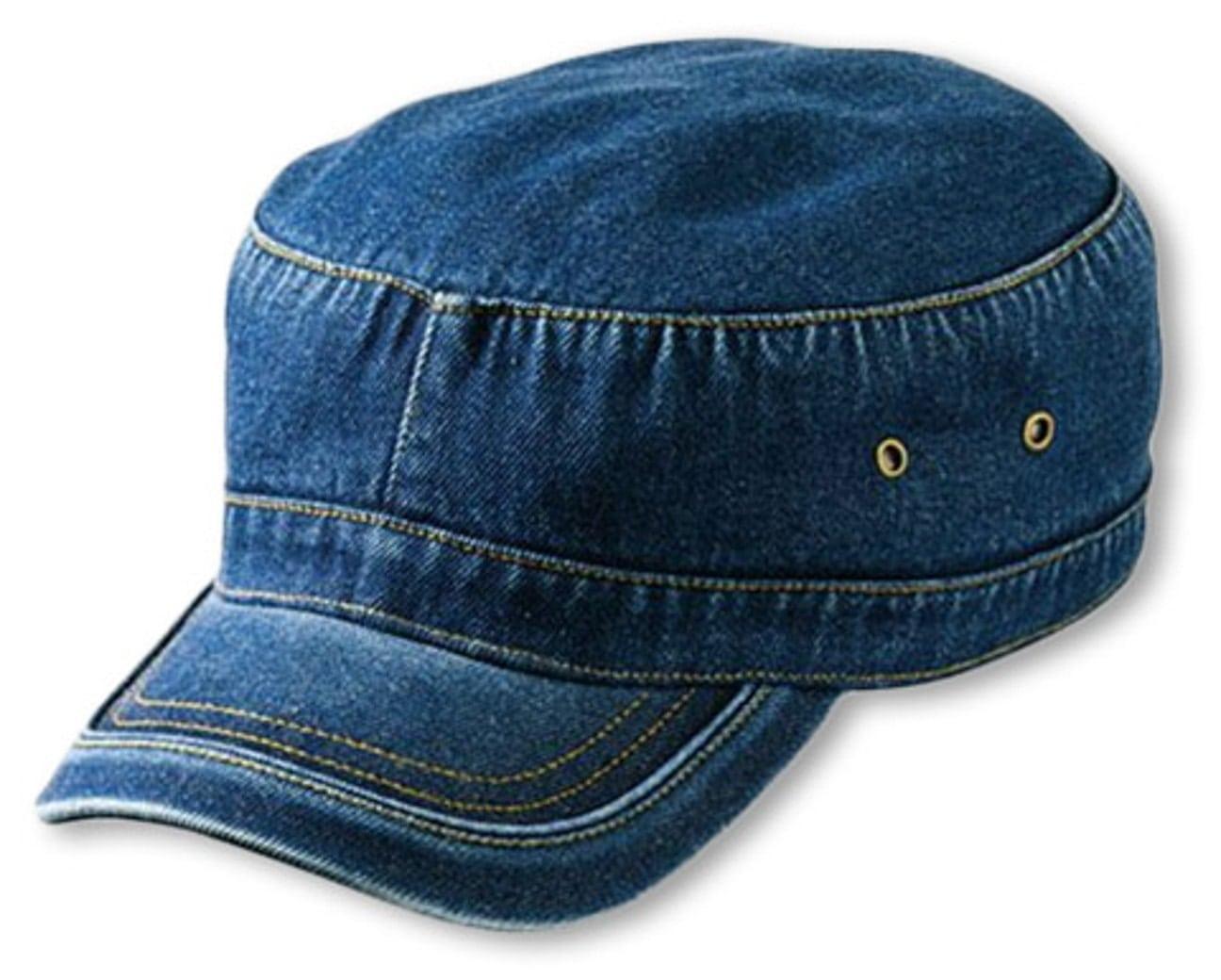 Gorra Militar de Denim Lavado - Gorras - sombreroshop.es 8bdc2bd3f72