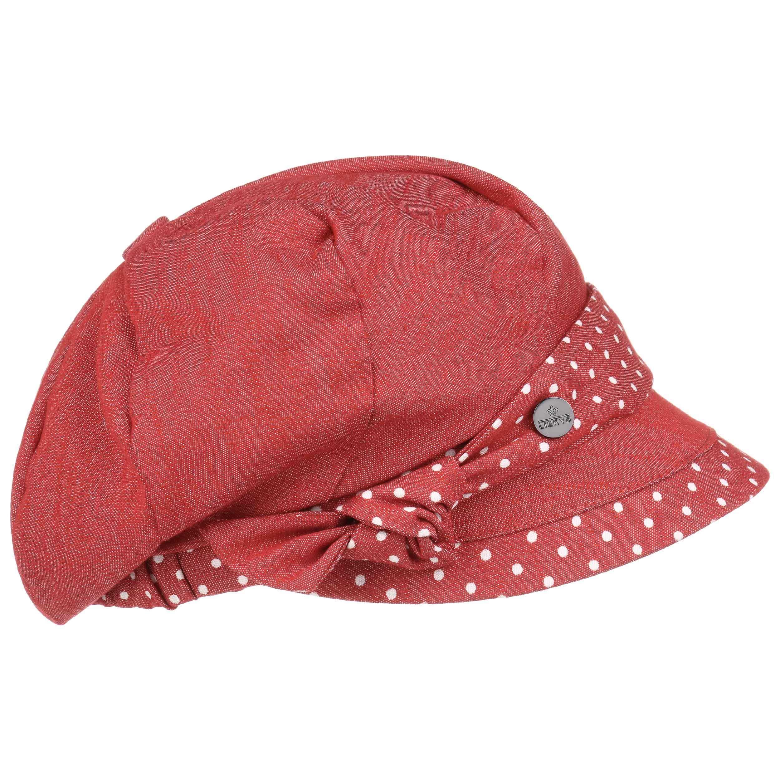 Gorra Newsboy Mila Dotted Peak by Lierys - Gorras - sombreroshop.es 7e0054edb1a