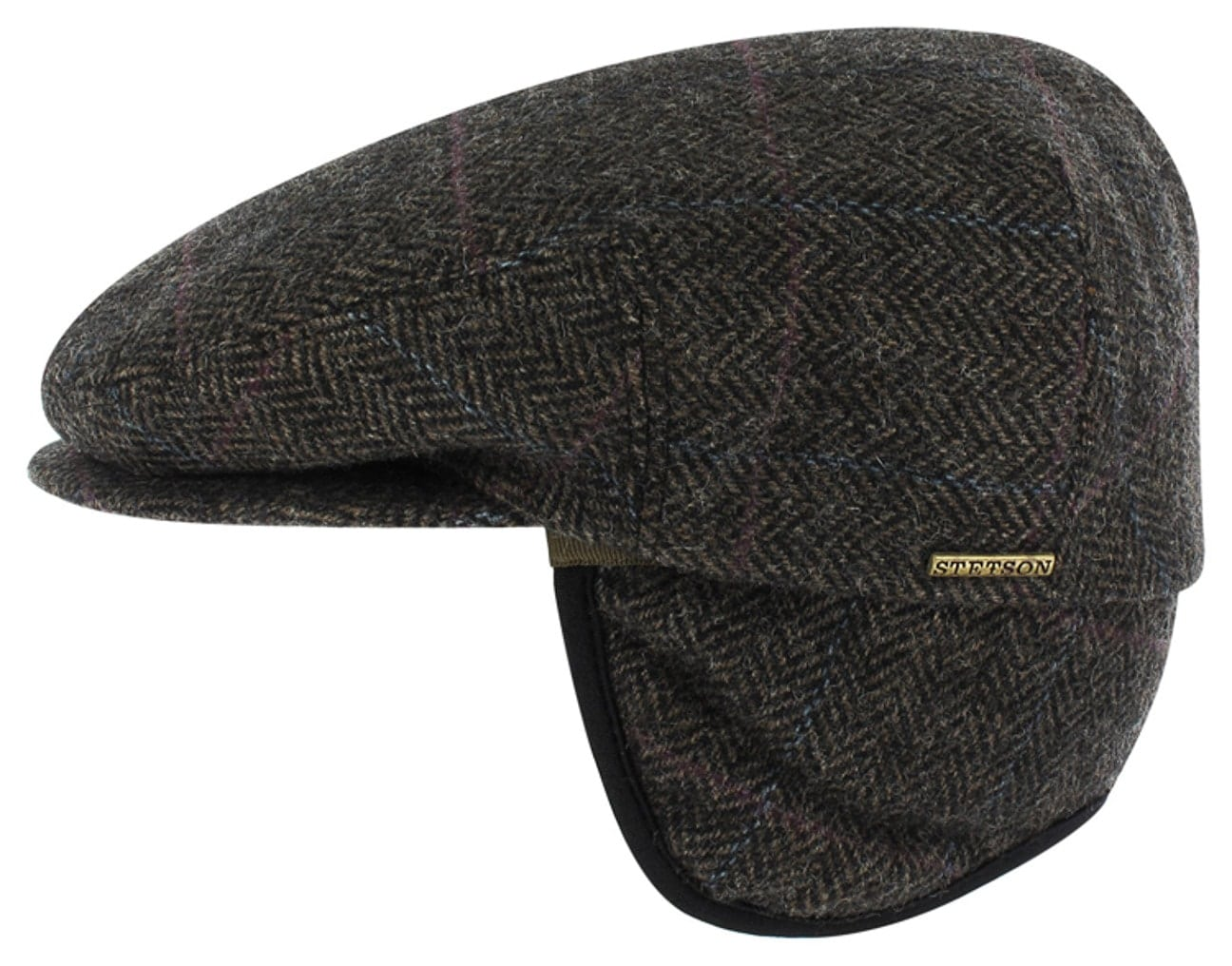 e2341cc8f1d54 Gorra Plana con Orejeras Kent by Stetson - Gorras - sombreroshop.es