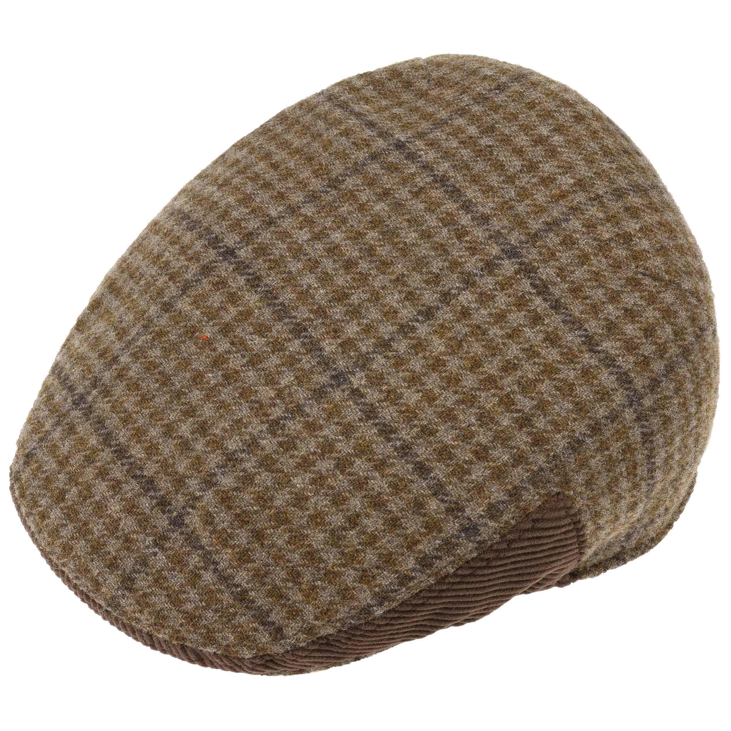 Gorra Tweed con Pajarita - Gorras - sombreroshop.es 92bf3c208e2