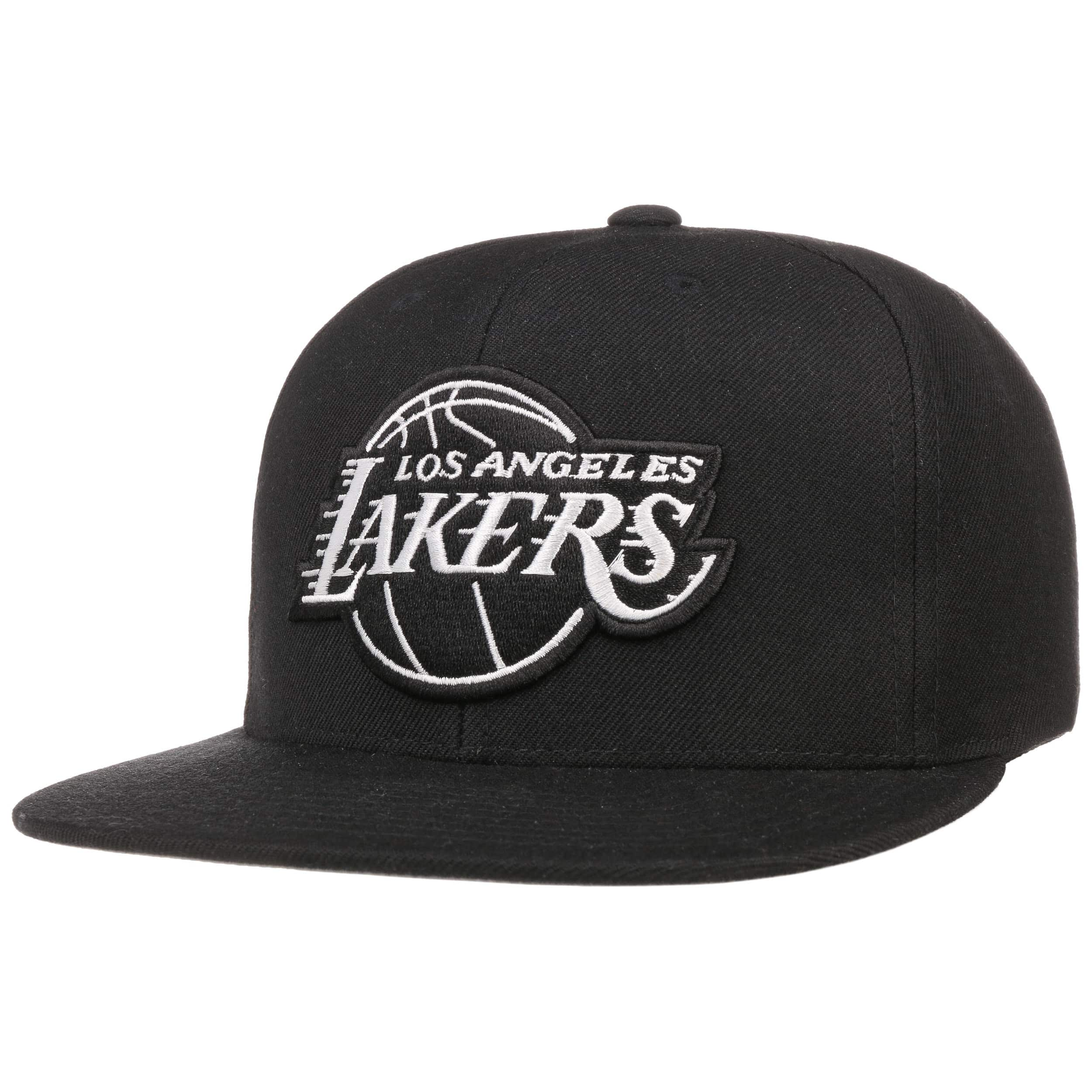 ... Gorra Wool Solid B W Lakers by Mitchell   Ness - negro-blanco 5 75f73142c9d