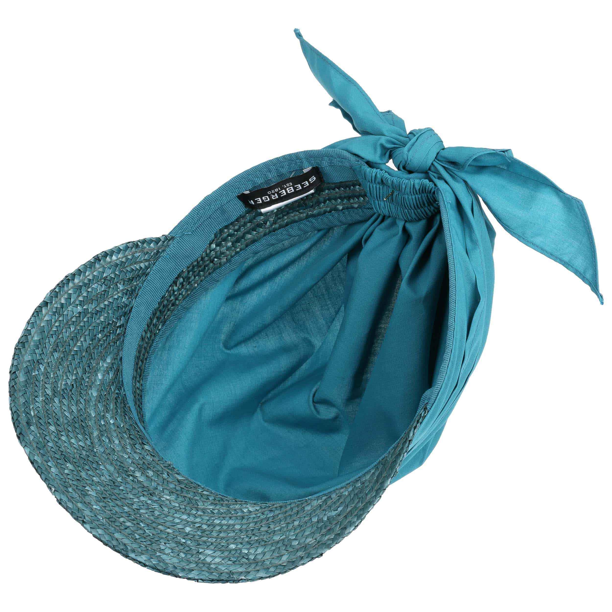 Gorra con Visera Paja Ansali by Seeberger - Bandanas - sombreroshop.es 5085b928538