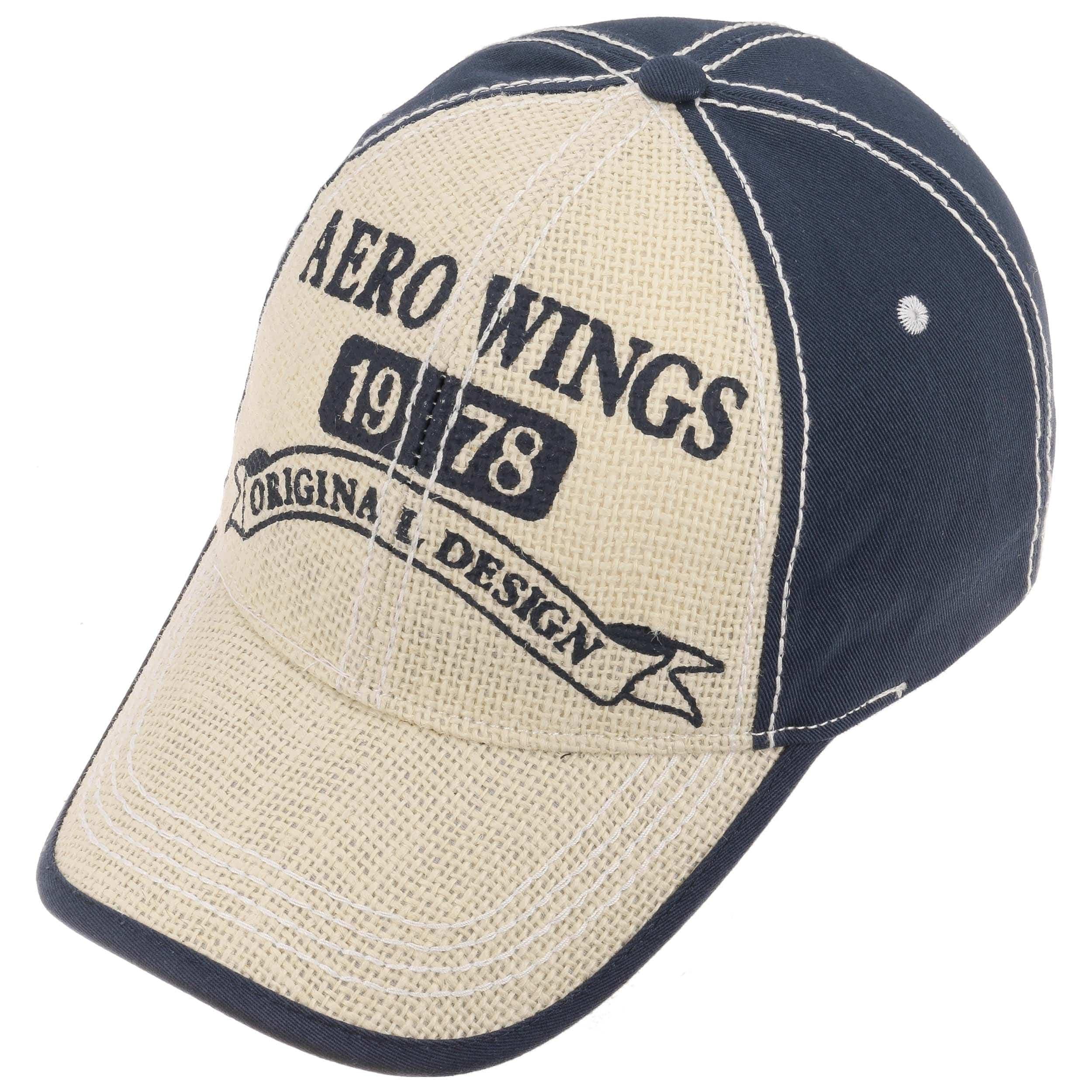 63b1cf02eea31 Gorra de Béisbol Aero Wings by Lipodo - Gorras - sombreroshop.es