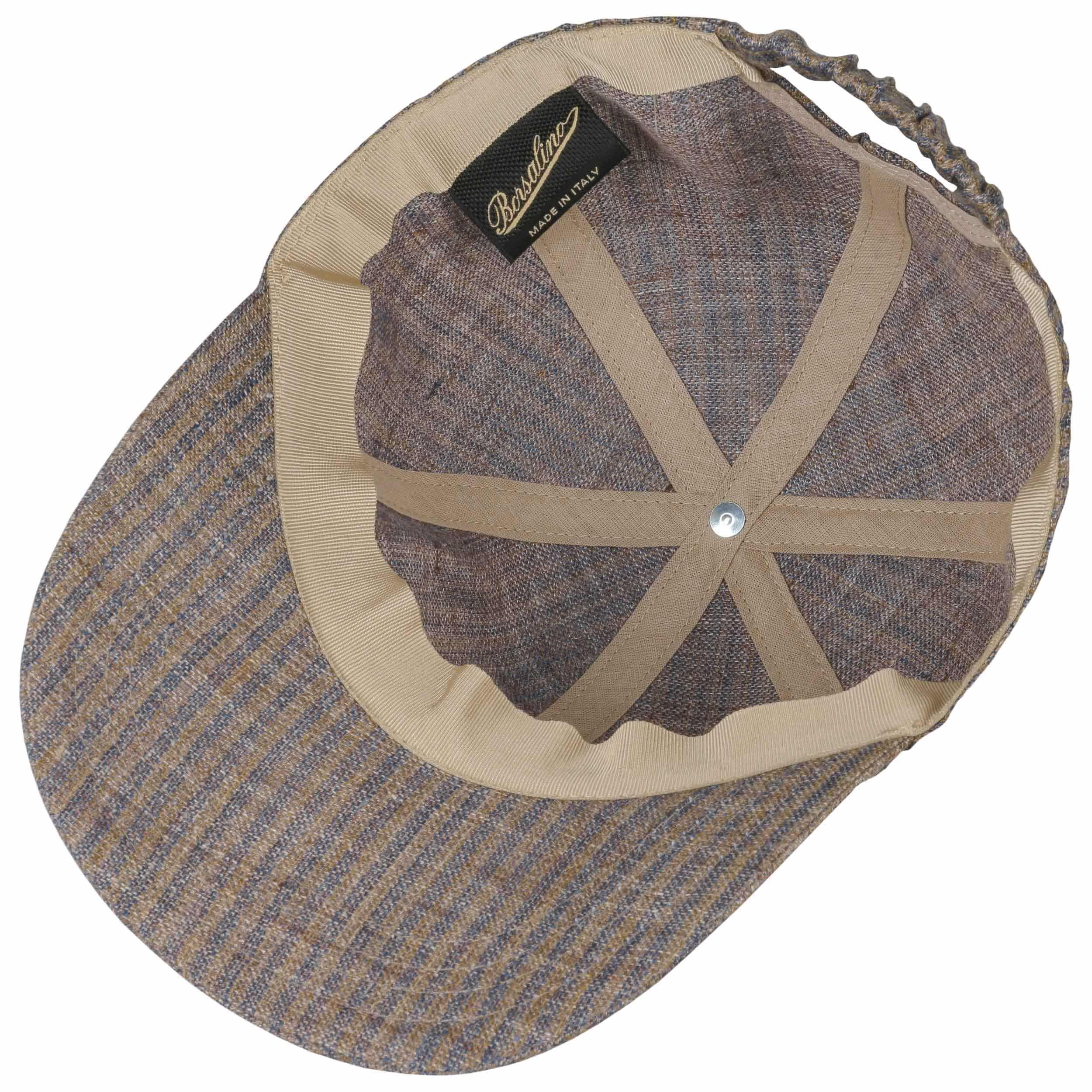 1eb23e3b4a1d8 Gorra de Béisbol Pinstripe by Borsalino - Gorras - sombreroshop.es
