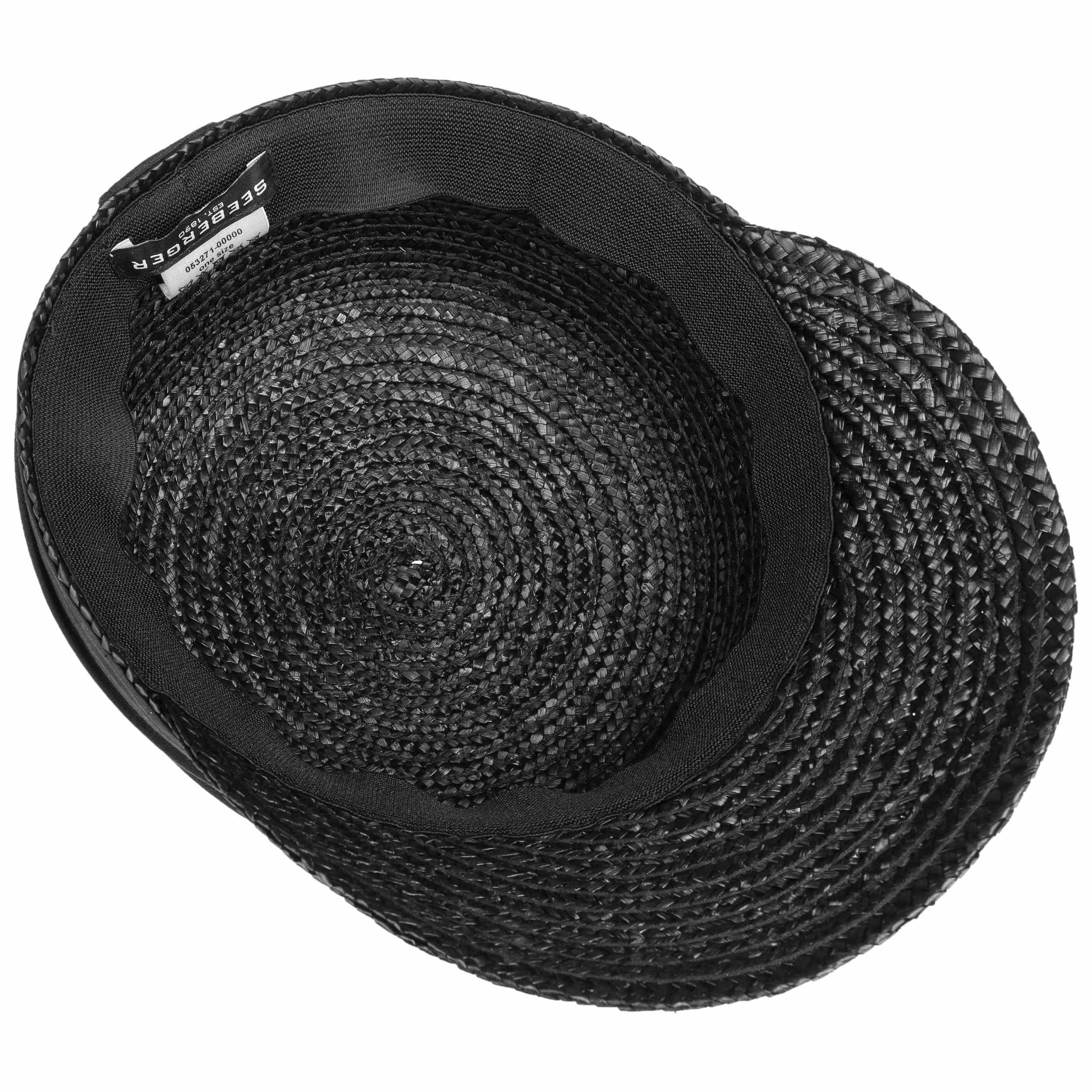 522f05ea8804c Gorra de Paja Grace by Seeberger - Gorras - sombreroshop.es