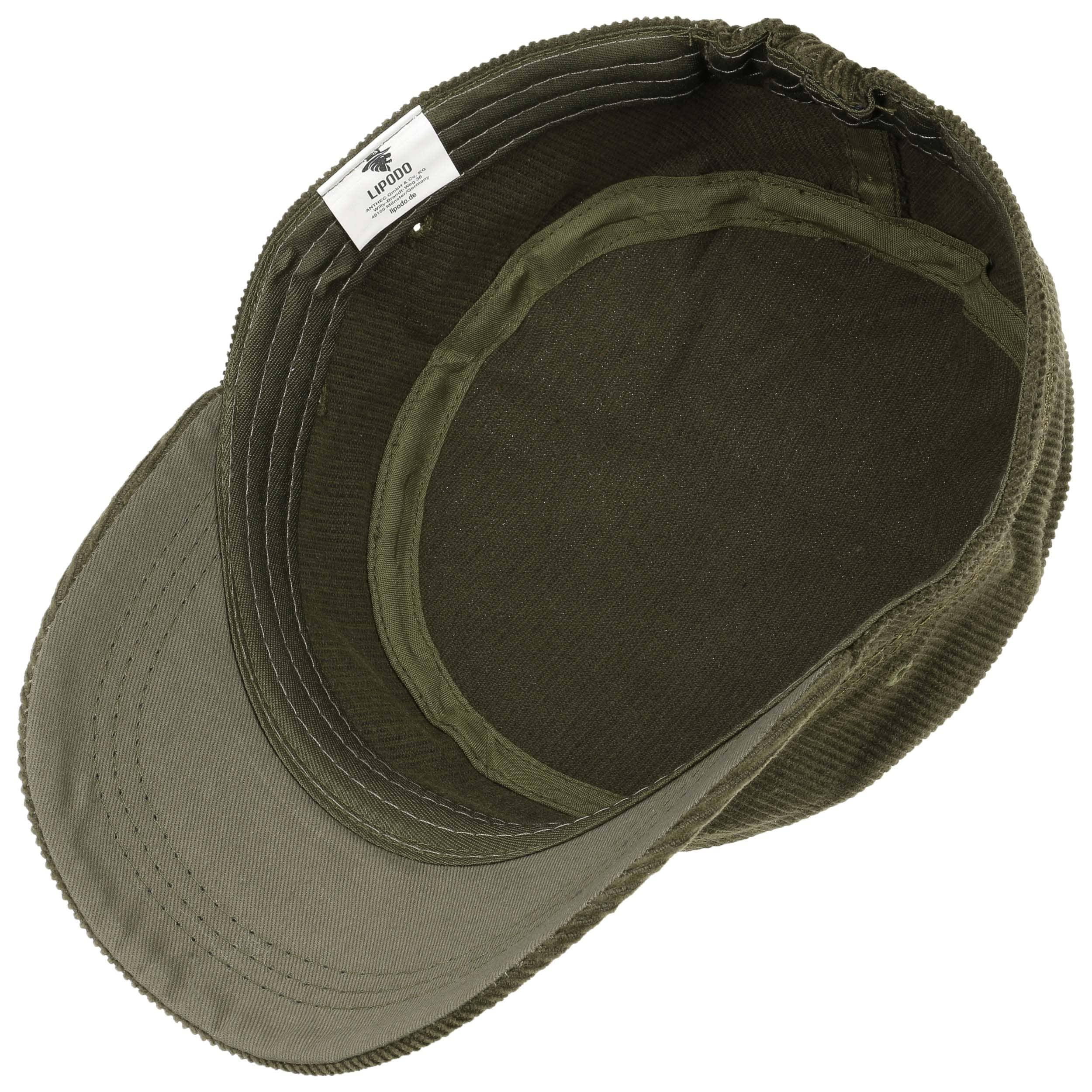 Gorra de Pana Army by Lipodo - Gorras - sombreroshop.es 258289eb585