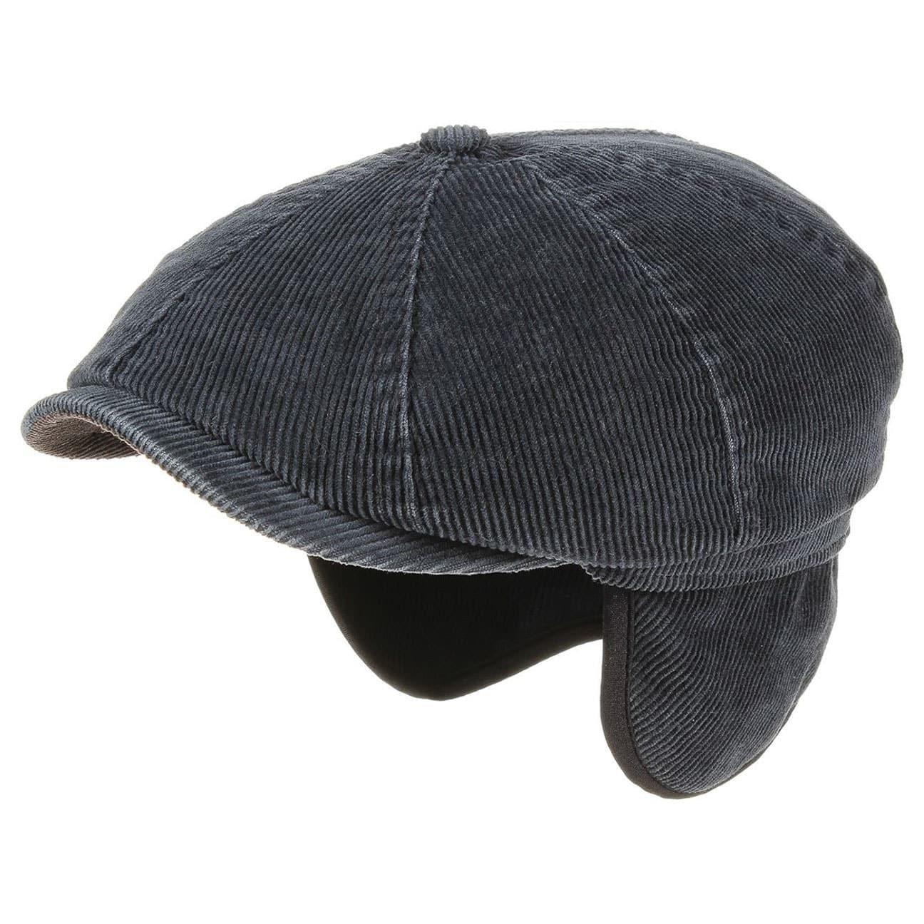 Gorra de Pana Hatteras Orejeras by Stetson - Gorros - sombreroshop.es 194b7a95a53