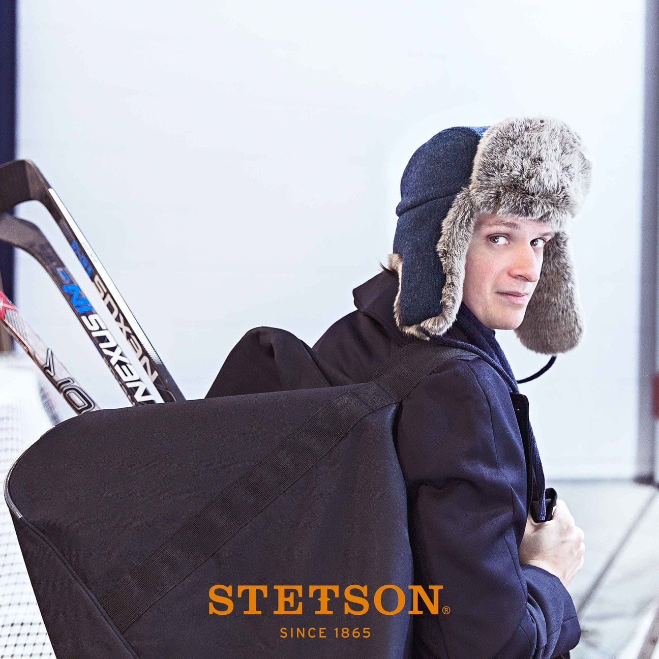 Gorro Aviador Alaska Wool by Stetson - Gorros - sombreroshop.es 391f8ac6d6e