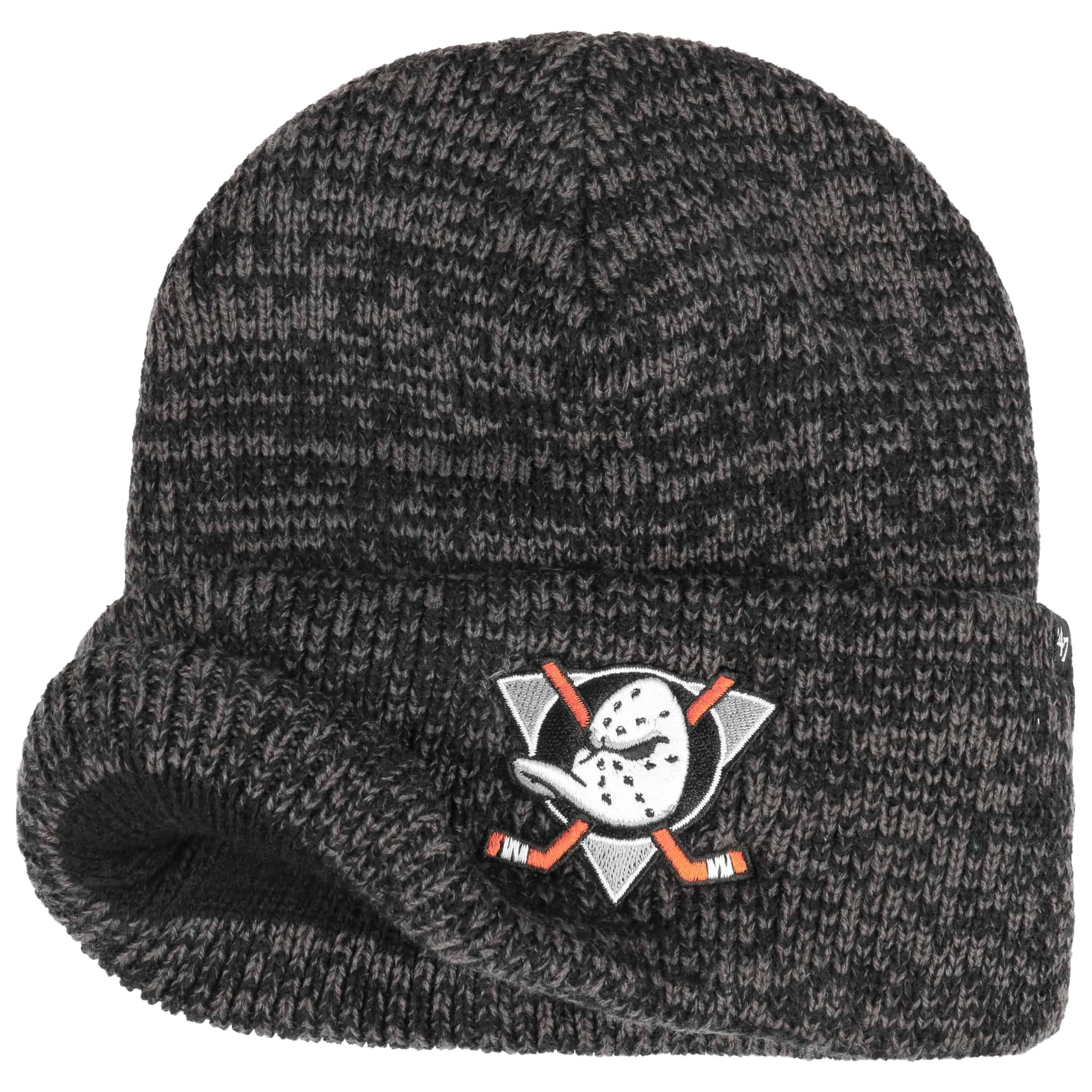 47 Brand Beanie Anaheim Ducks color negro y gris Zapatillas talla /única