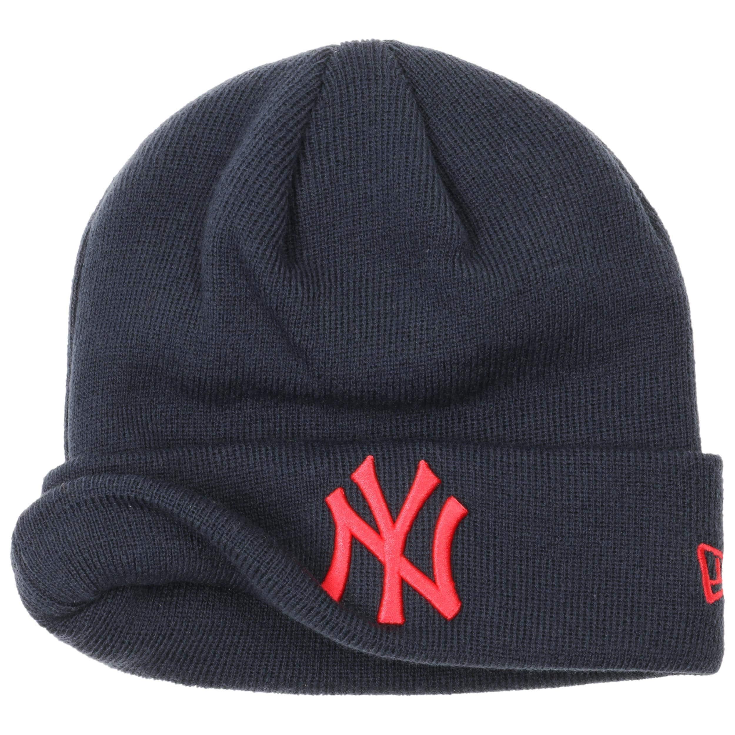 a11c44332a0b4 Gorro Beanie League Ess Cuff Yankees by New Era - azul oscuro 1 ...