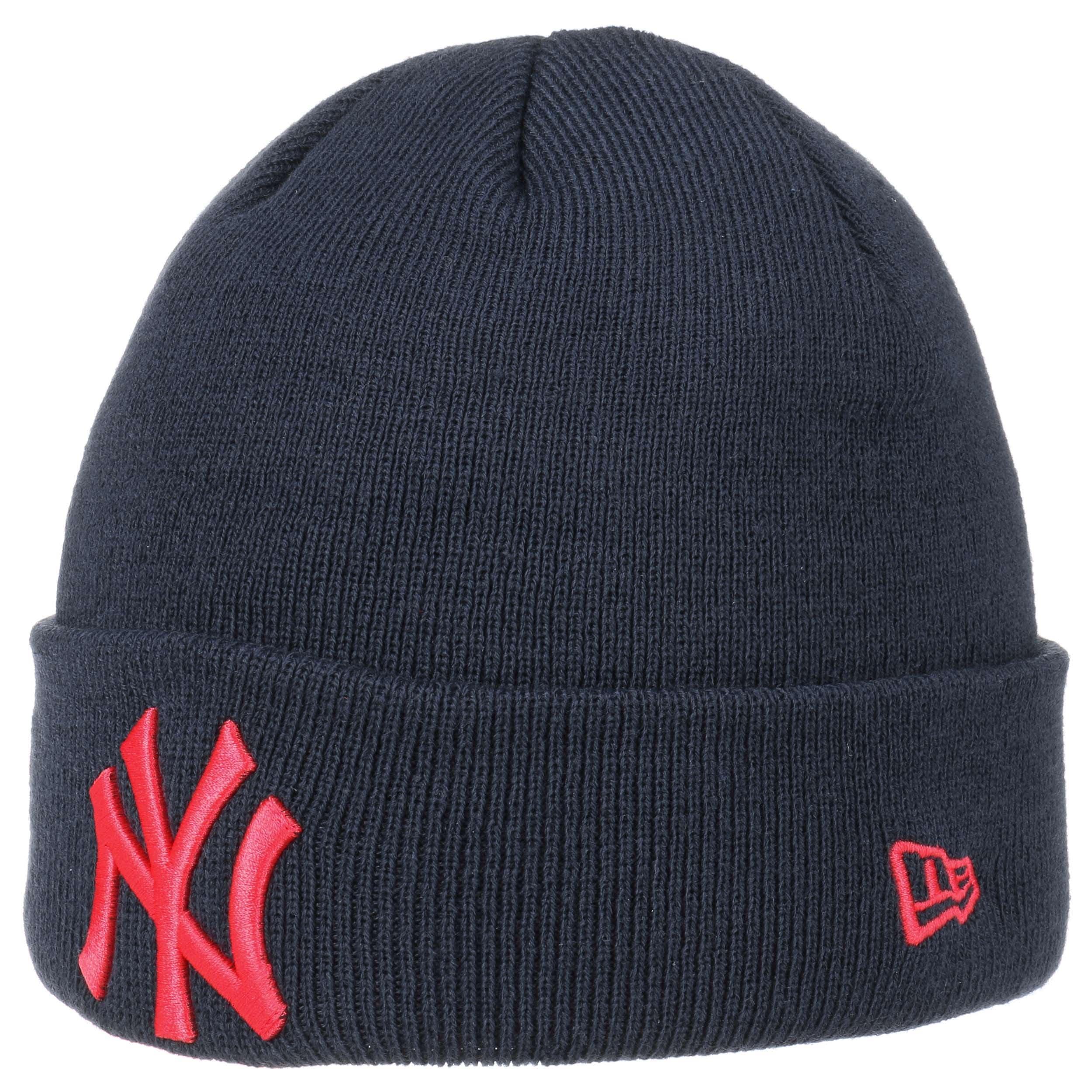 de1936ea350ec ... Gorro Beanie League Ess Cuff Yankees by New Era - azul oscuro 4 ...