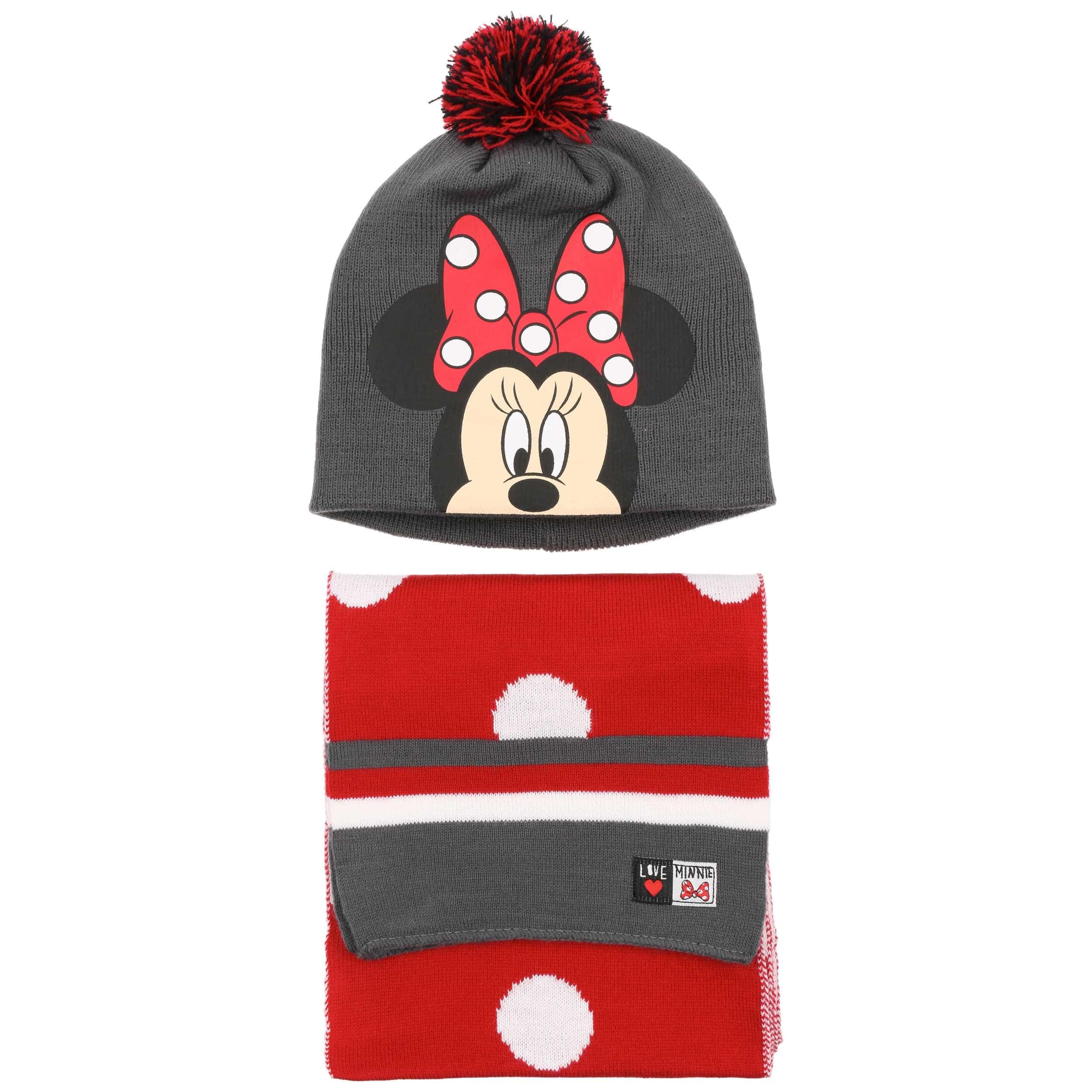 Gorro   Bufanda Minnie Mouse - Gorros - sombreroshop.es 18c7b5c9321