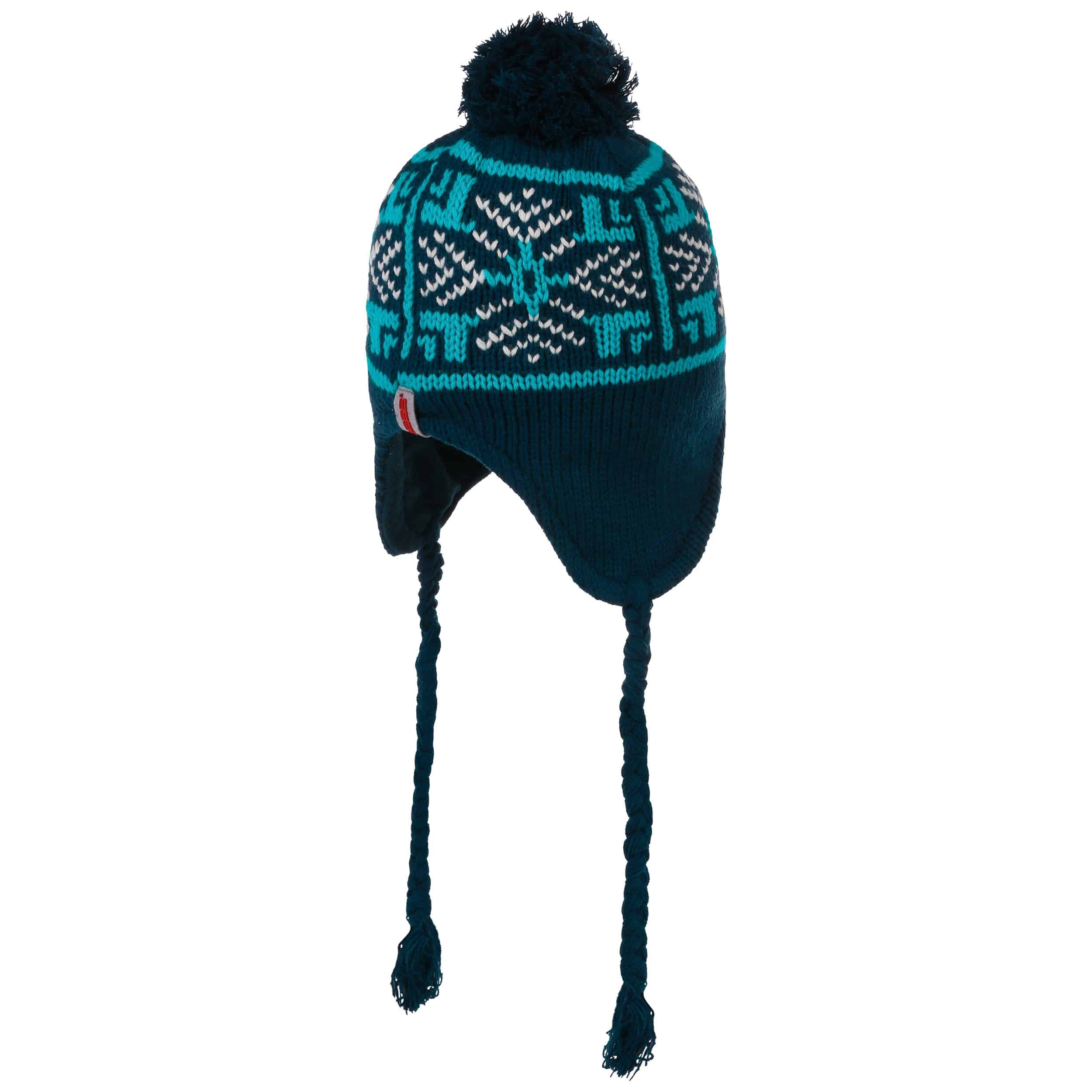 ... Gorro Peruano Snowflakes - azul 2 ... 544fb71fa60